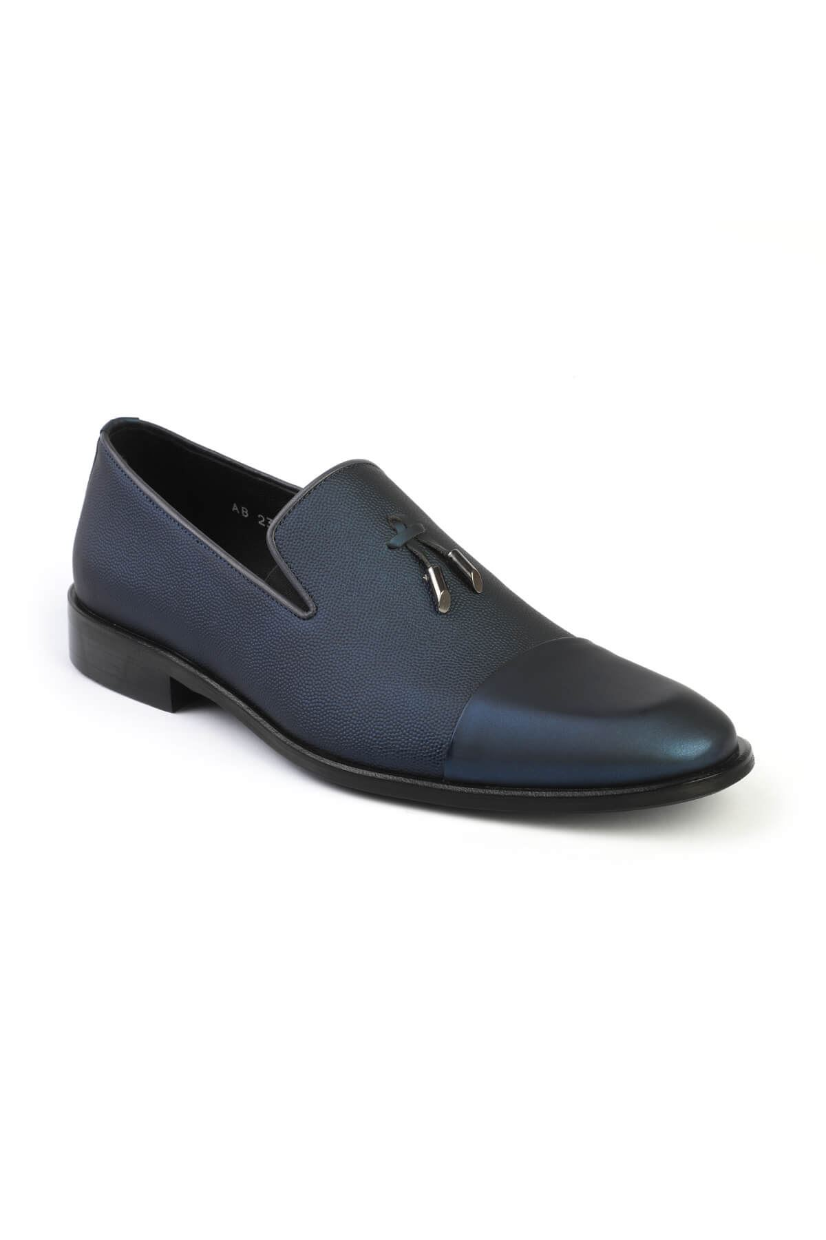 Libero 2385 Navy Blue Classic Shoes