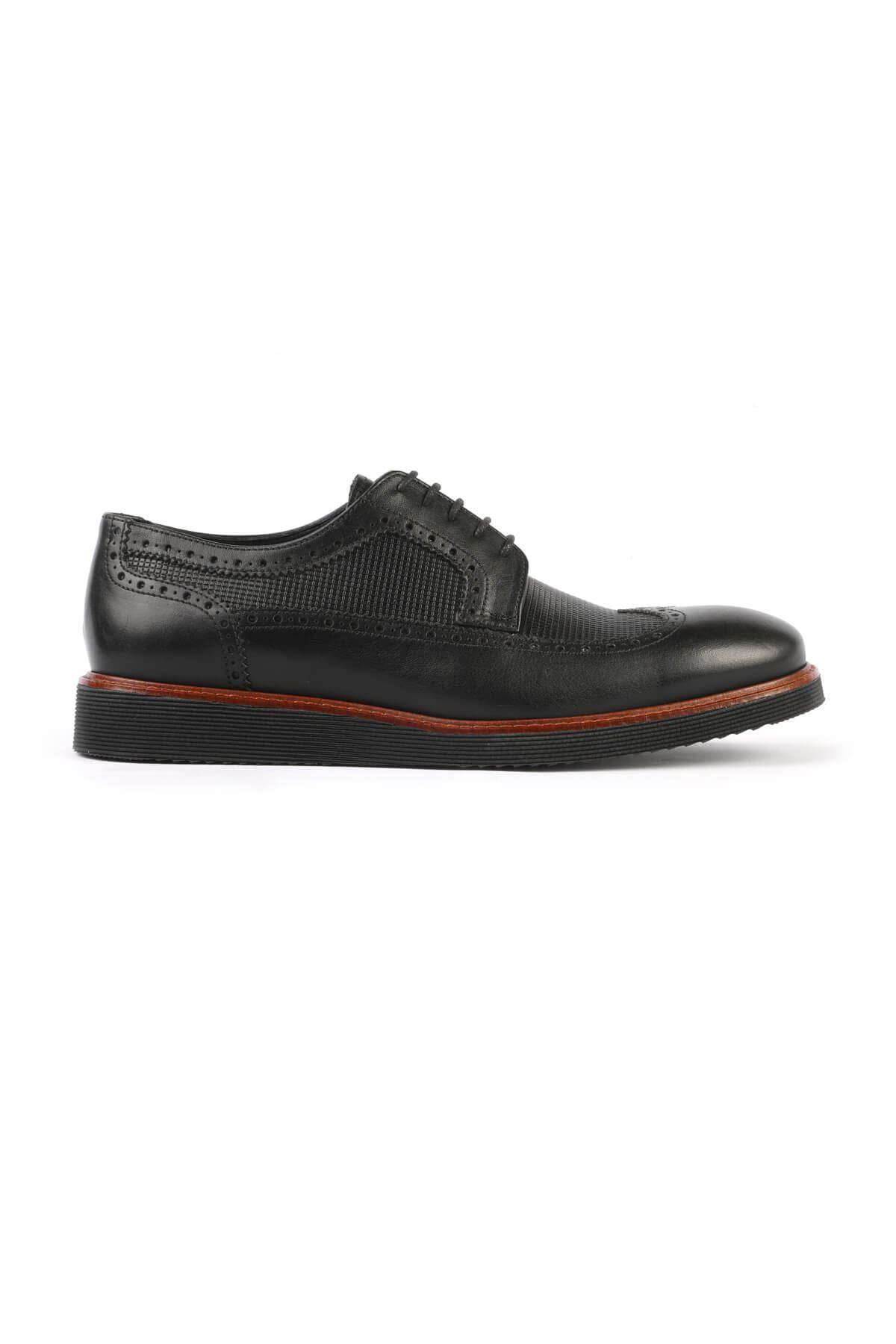 Libero C631 Siyah Oxford Ayakkabı
