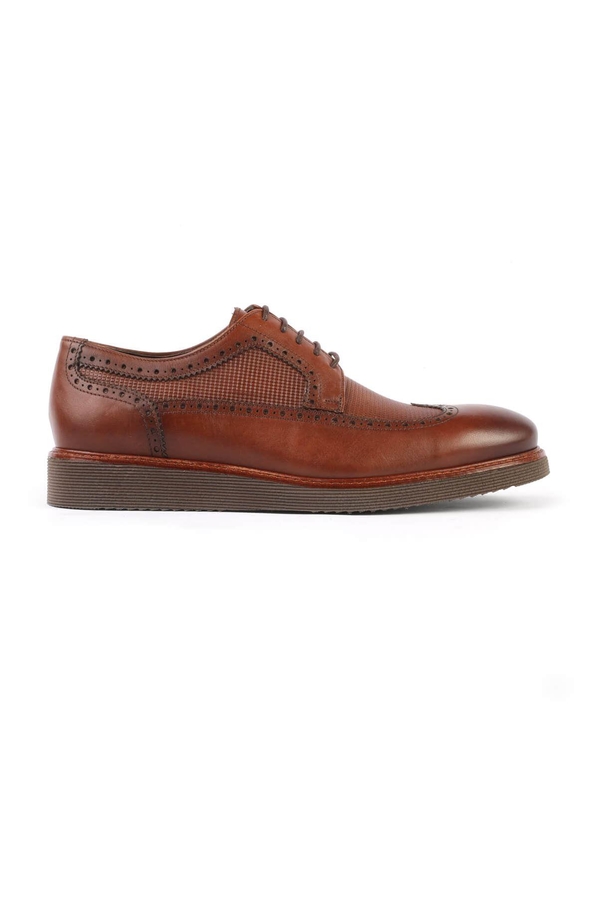 Libero C631 Brown Oxford Shoes