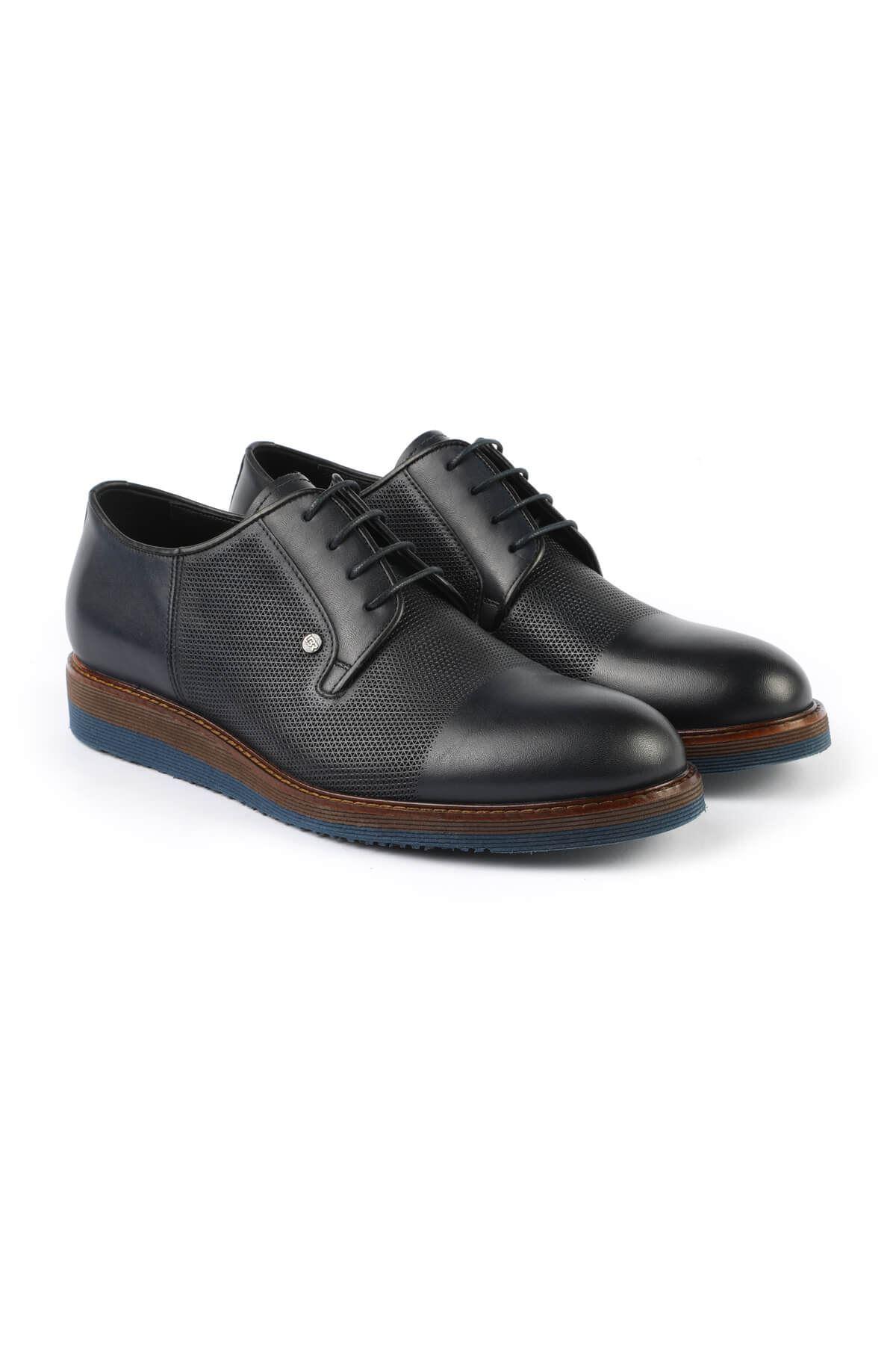 Libero 3052 Lacivert Oxford Ayakkabı