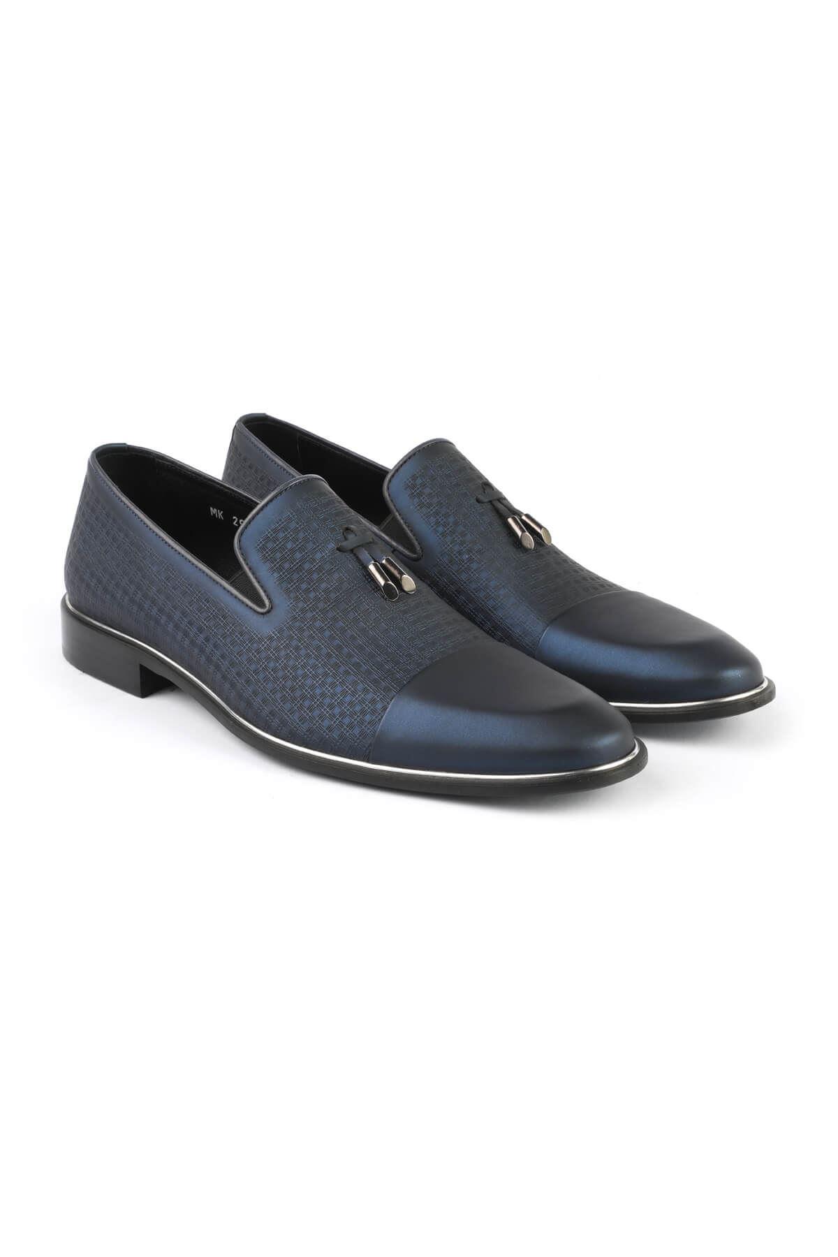 Libero 2989 Navy Blue Classic Shoes
