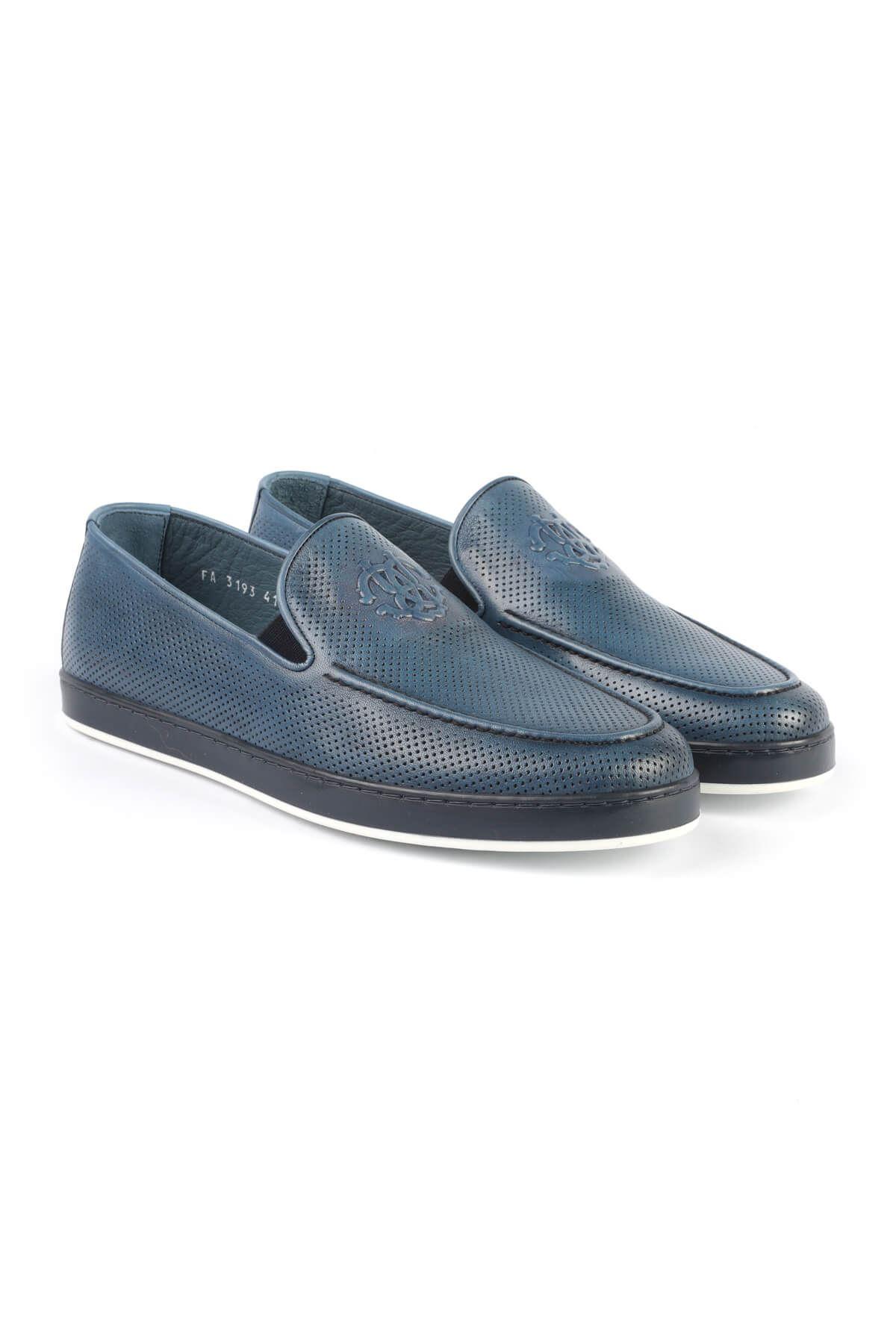 Libero 3193 Mavi Loafer Ayakkabı