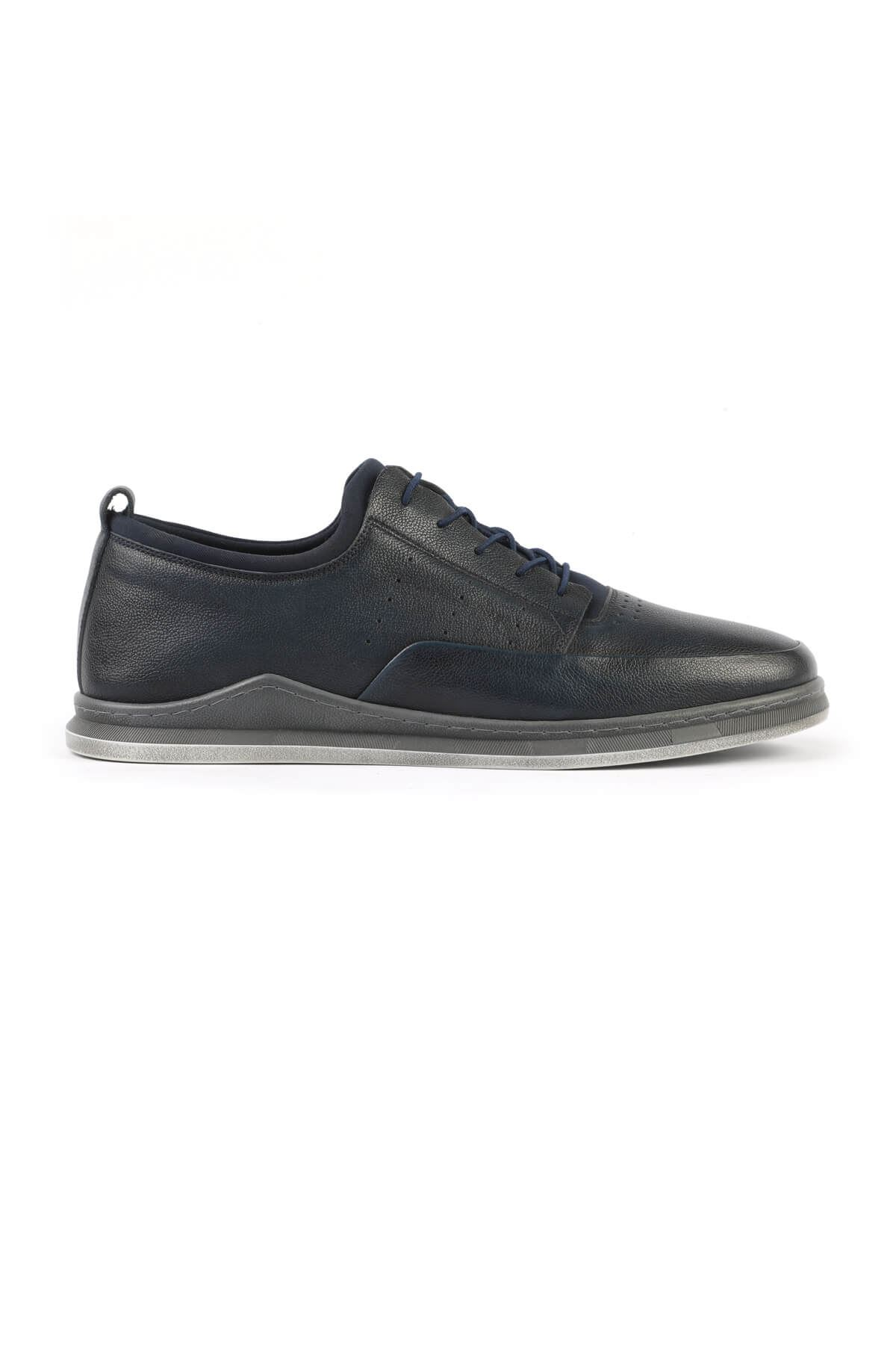 Libero 3043 Navy Blue Casual Shoes