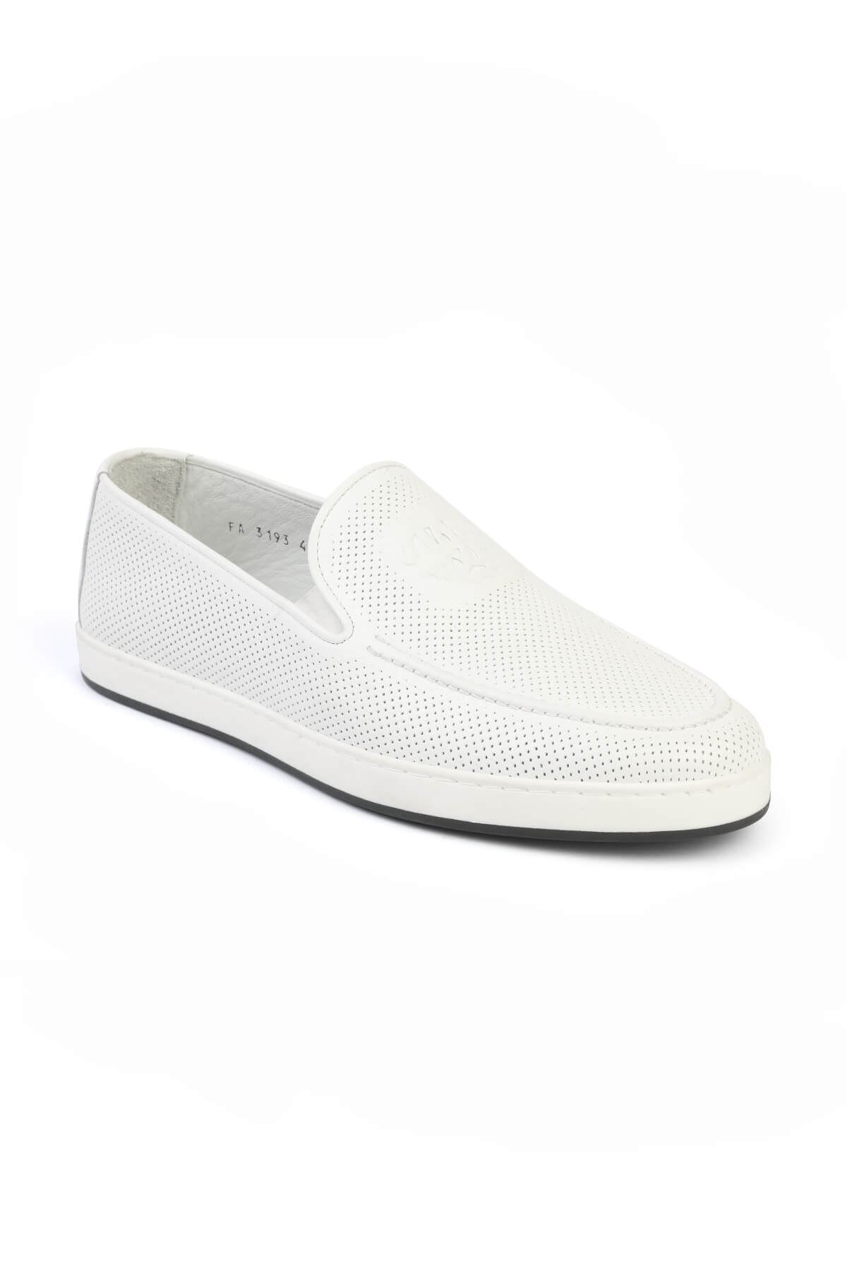 Libero 3193 Beyaz Loafer Ayakkabı
