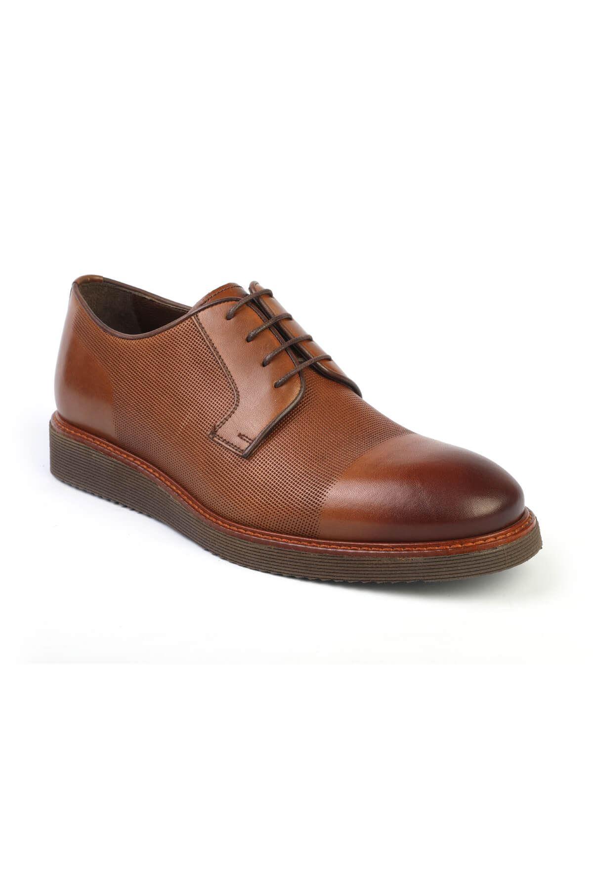 Libero C252 Tan Oxford Shoes