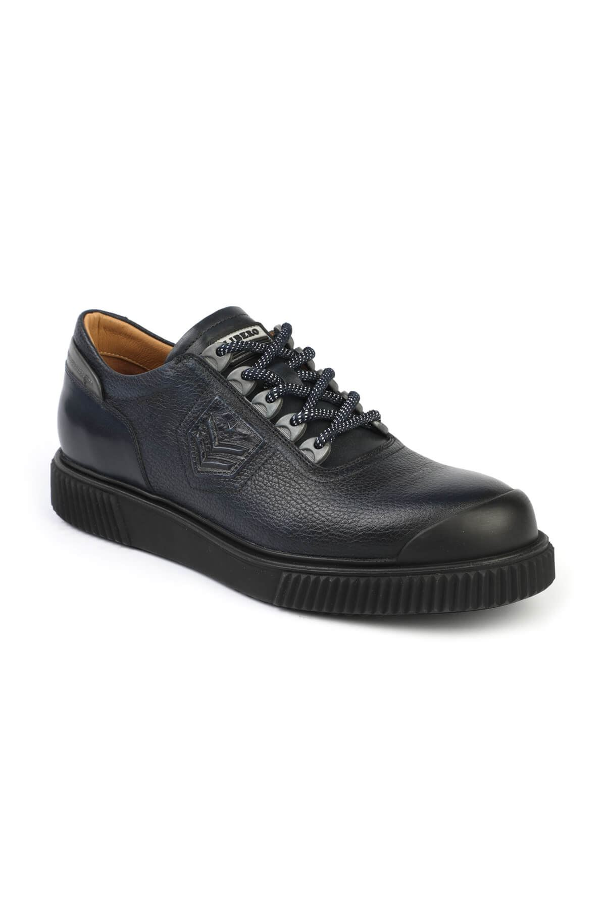 Libero 3175 Navy Blue Casual Shoes