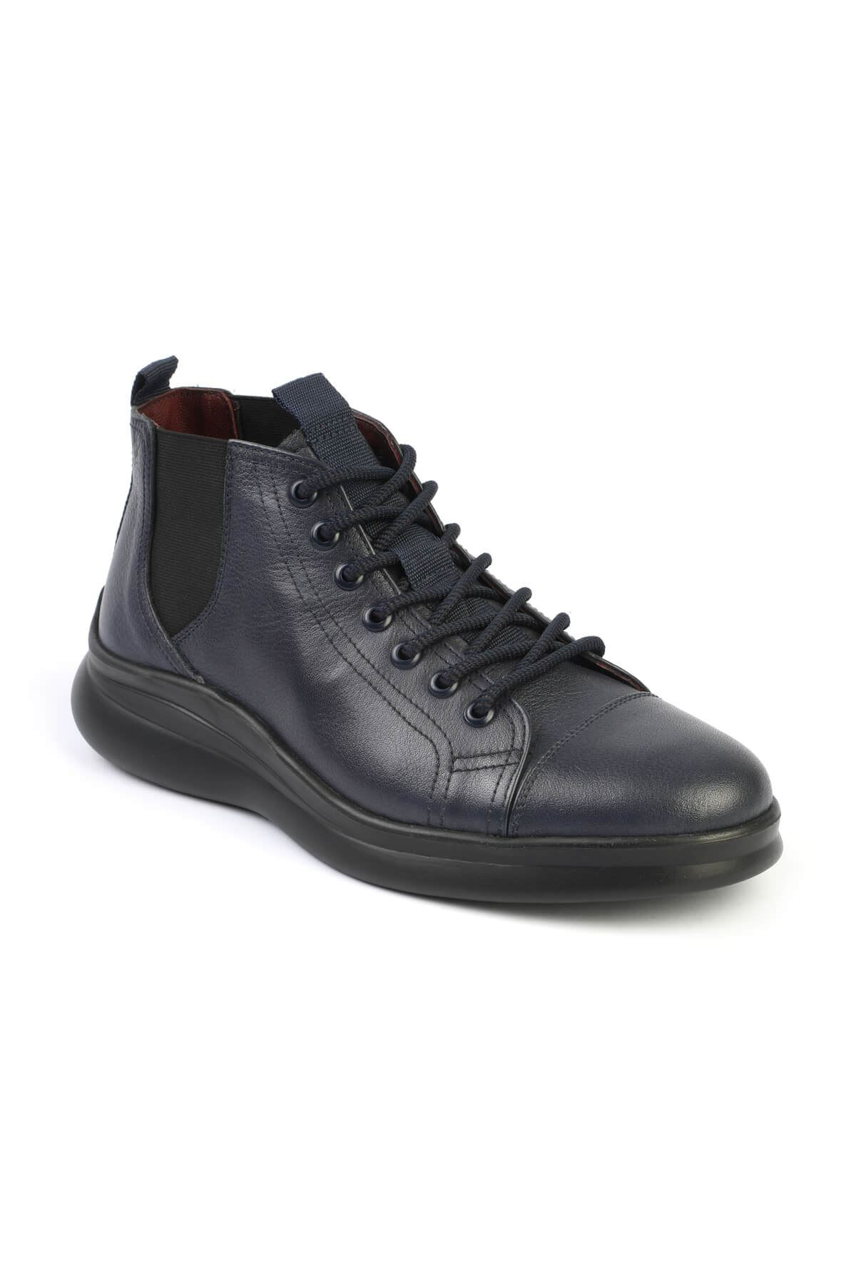 Libero 1328 Navy Blue Men Boots