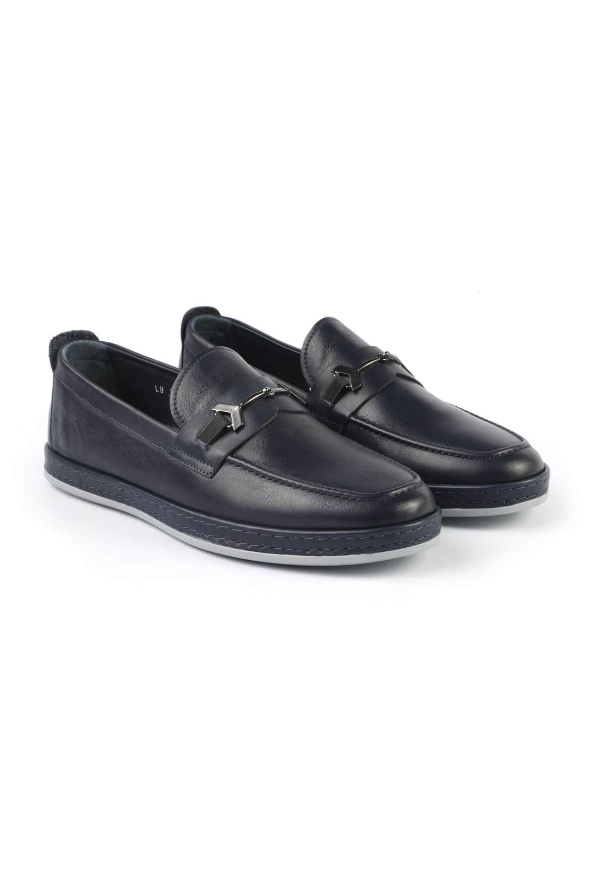 Libero 3075 Lacivert Loafer Ayakkabı