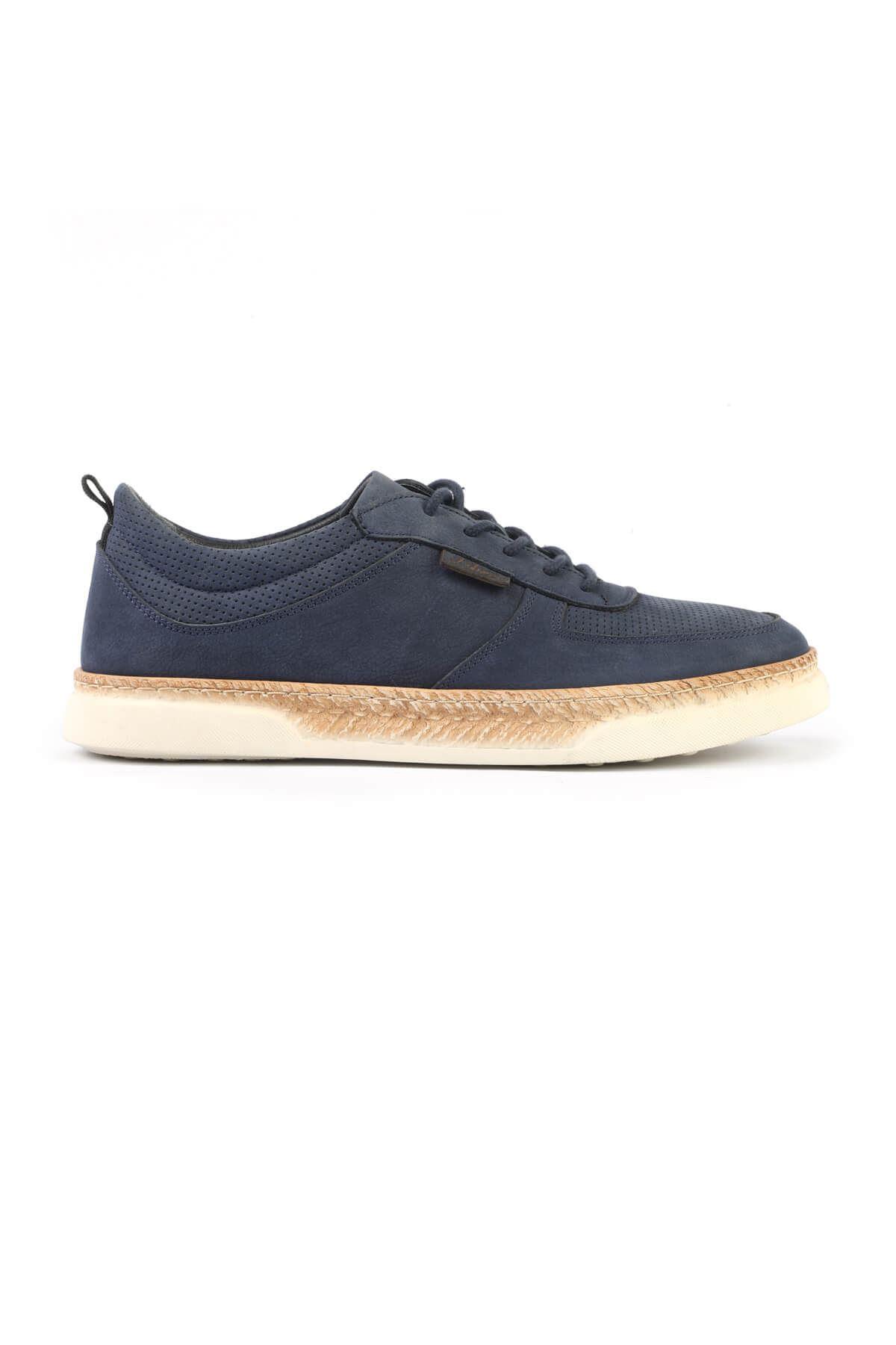 Libero 3007 Navy Blue Casual Shoes