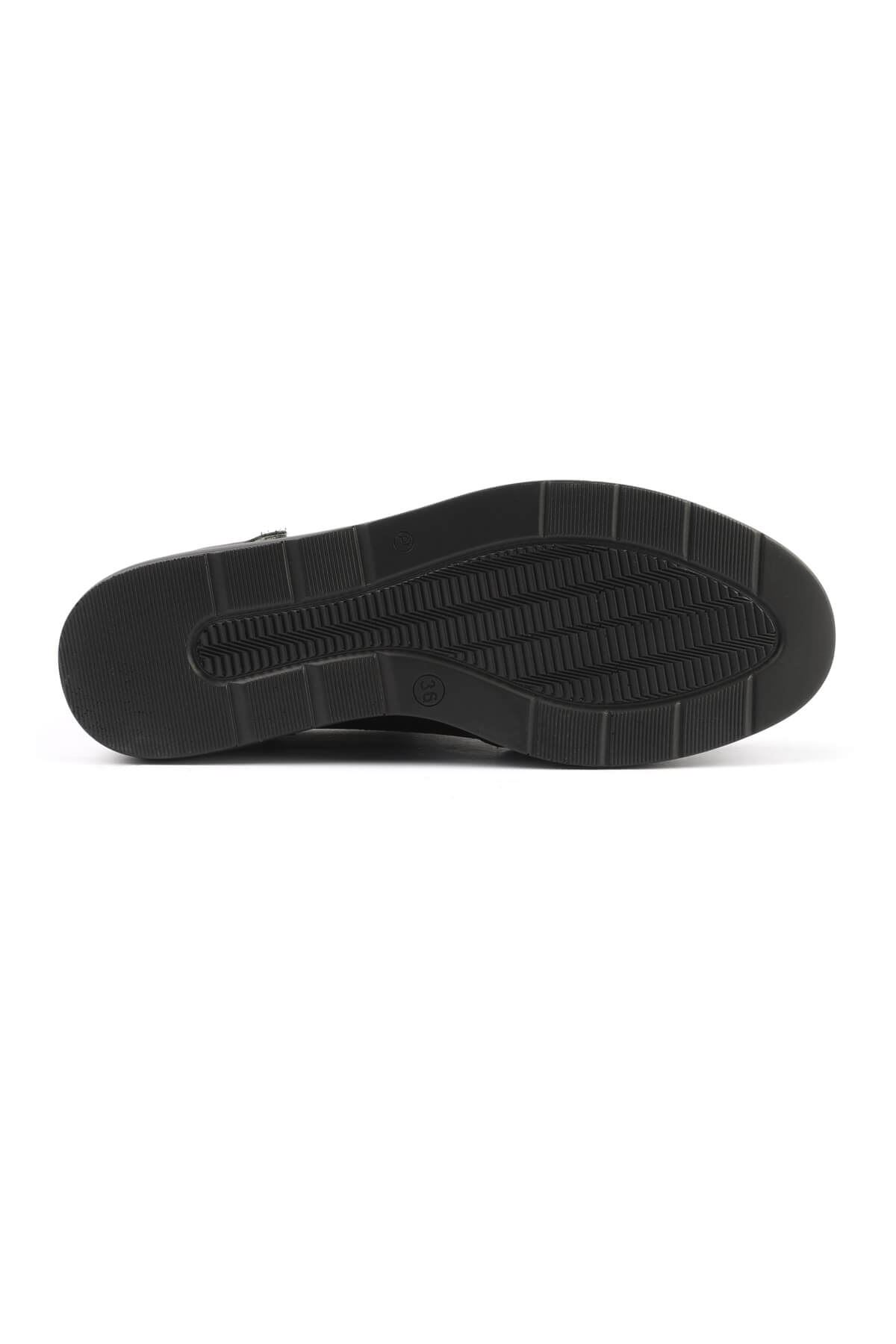 Libero FMS218 Black Casual Shoes