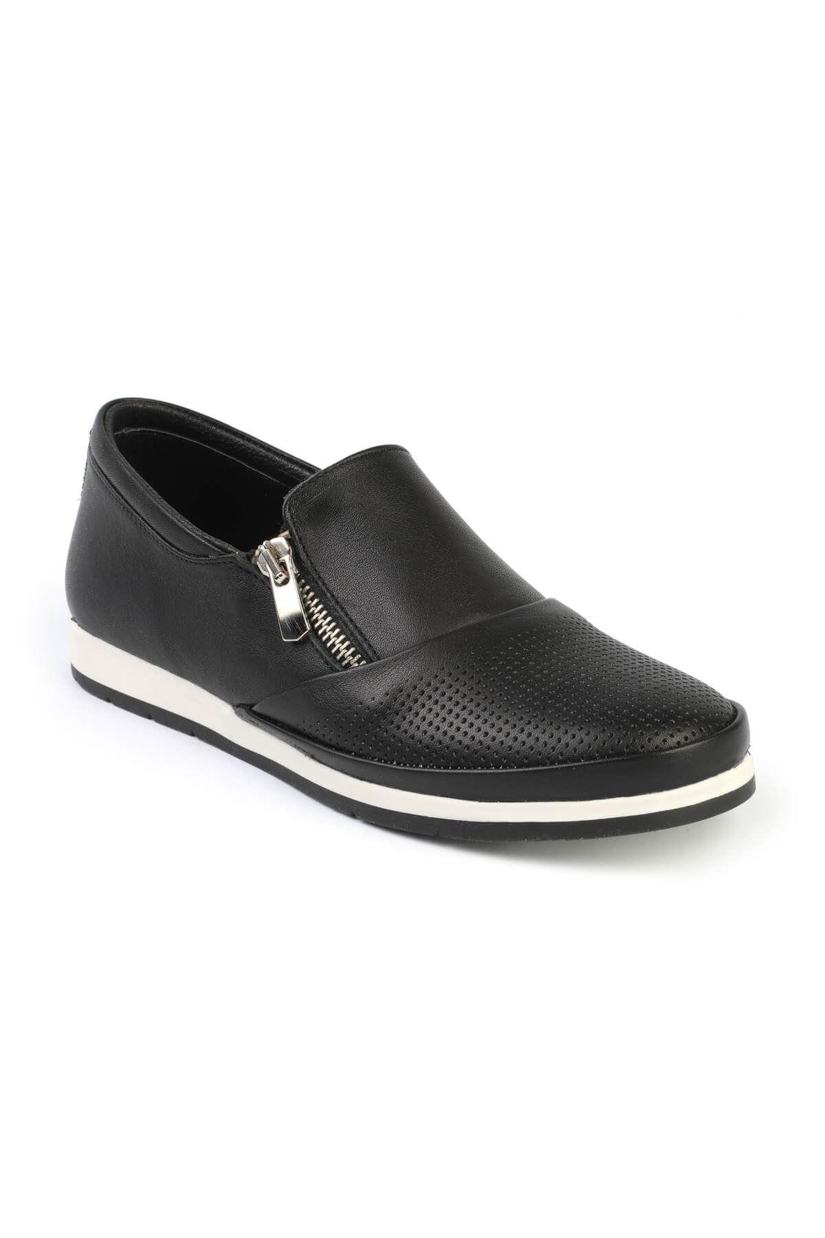 Libero FMS202 Black Casual Shoes
