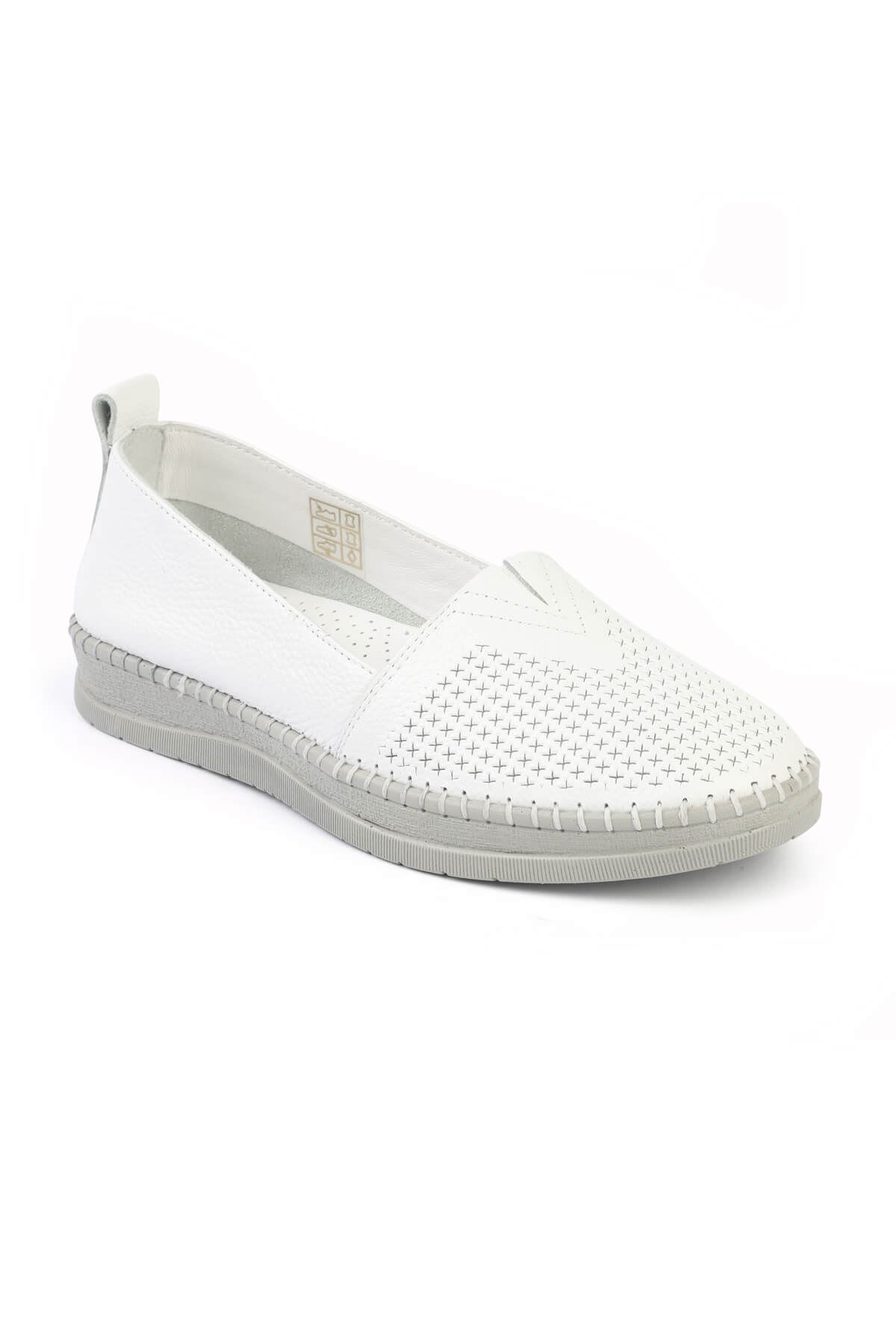 Libero FMS240 White Espadrille Shoes