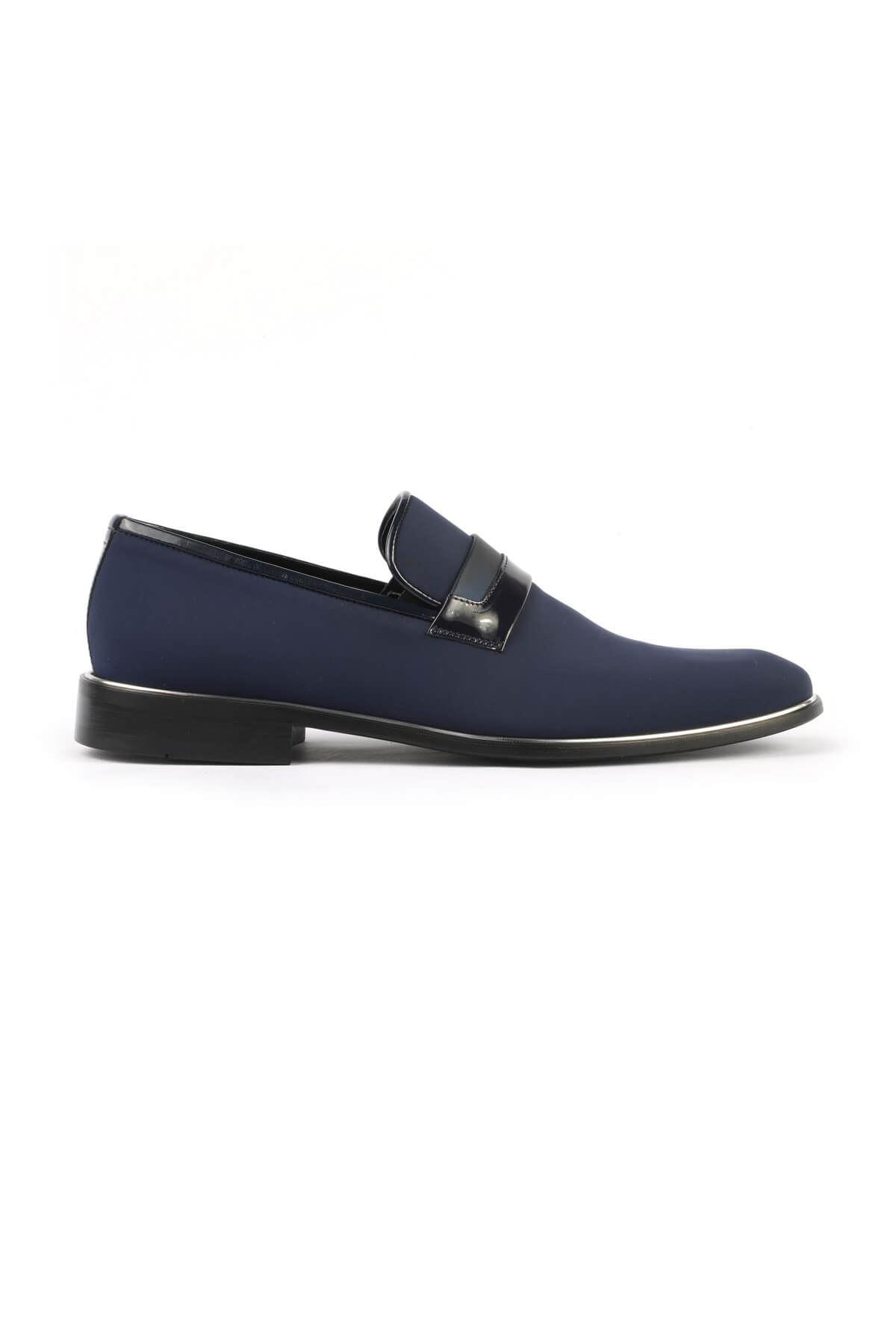 Libero 2602 Navy Blue Classic Shoes
