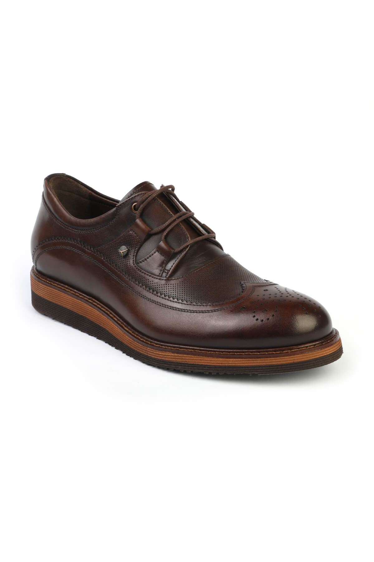 Libero 2902 Brown Oxford Shoes