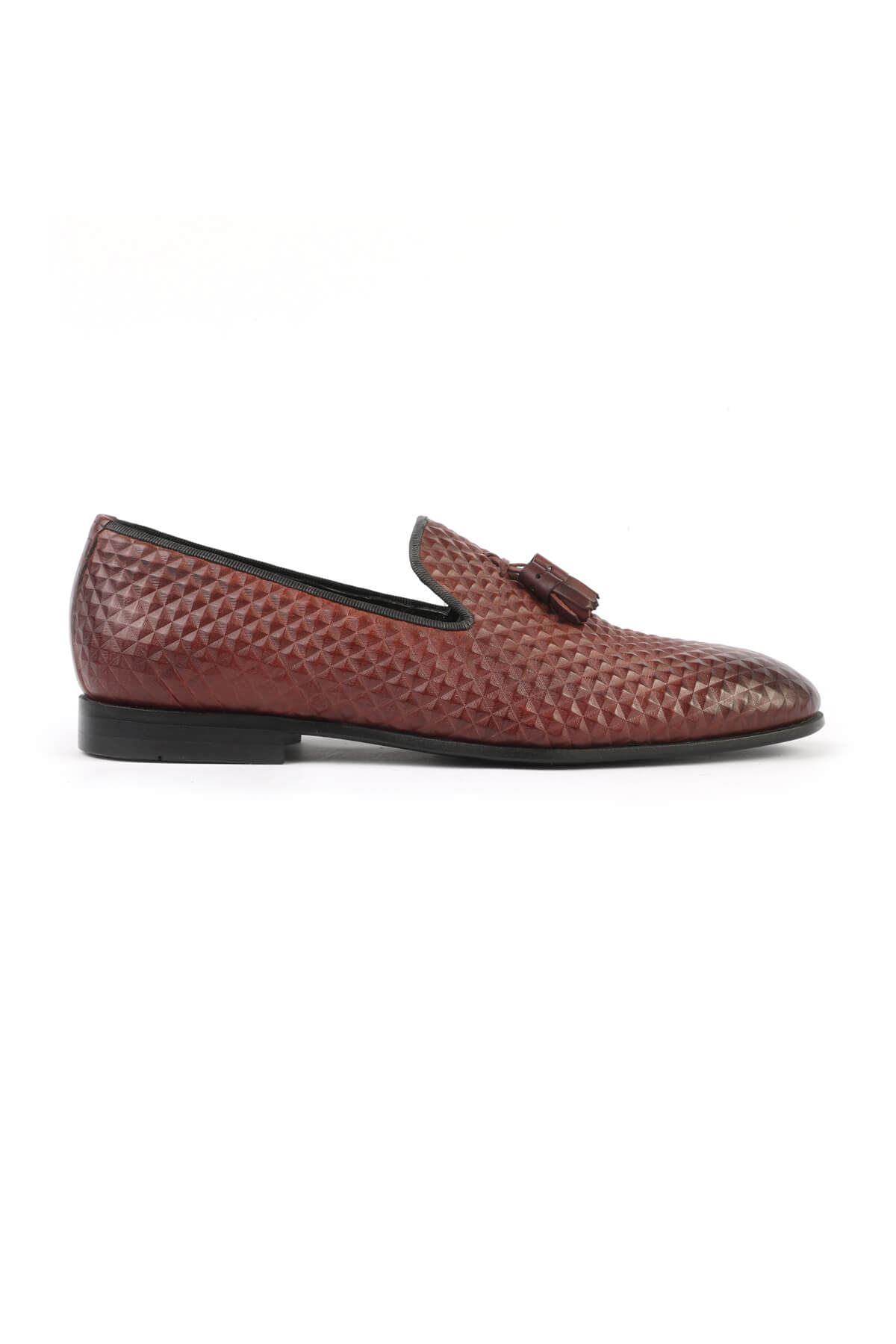 Libero 2830 Claret Red Loafer Shoes