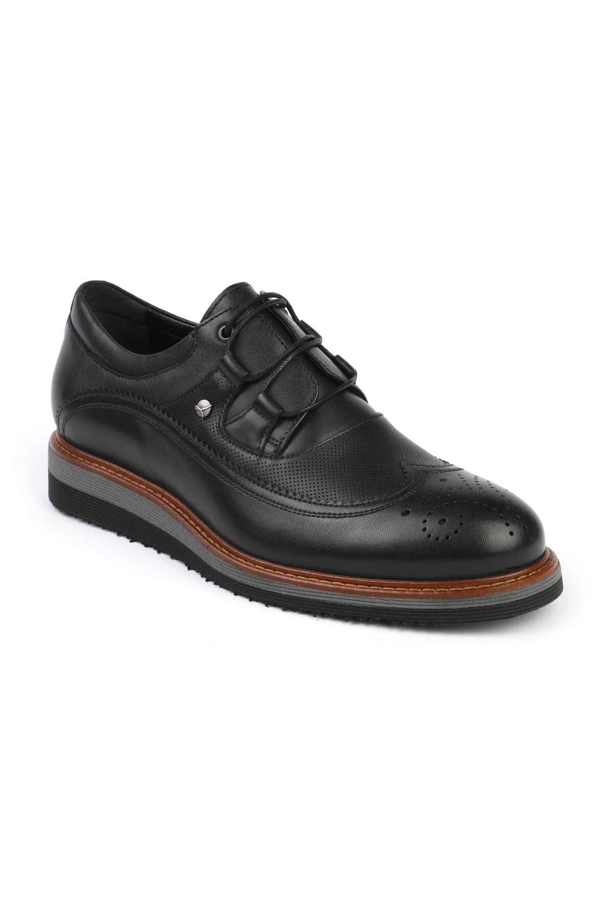 Libero 2902 Black Oxford Shoes