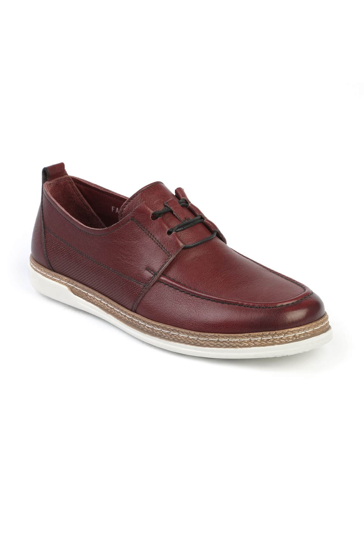 Libero C626 Claret Red Casual Shoes