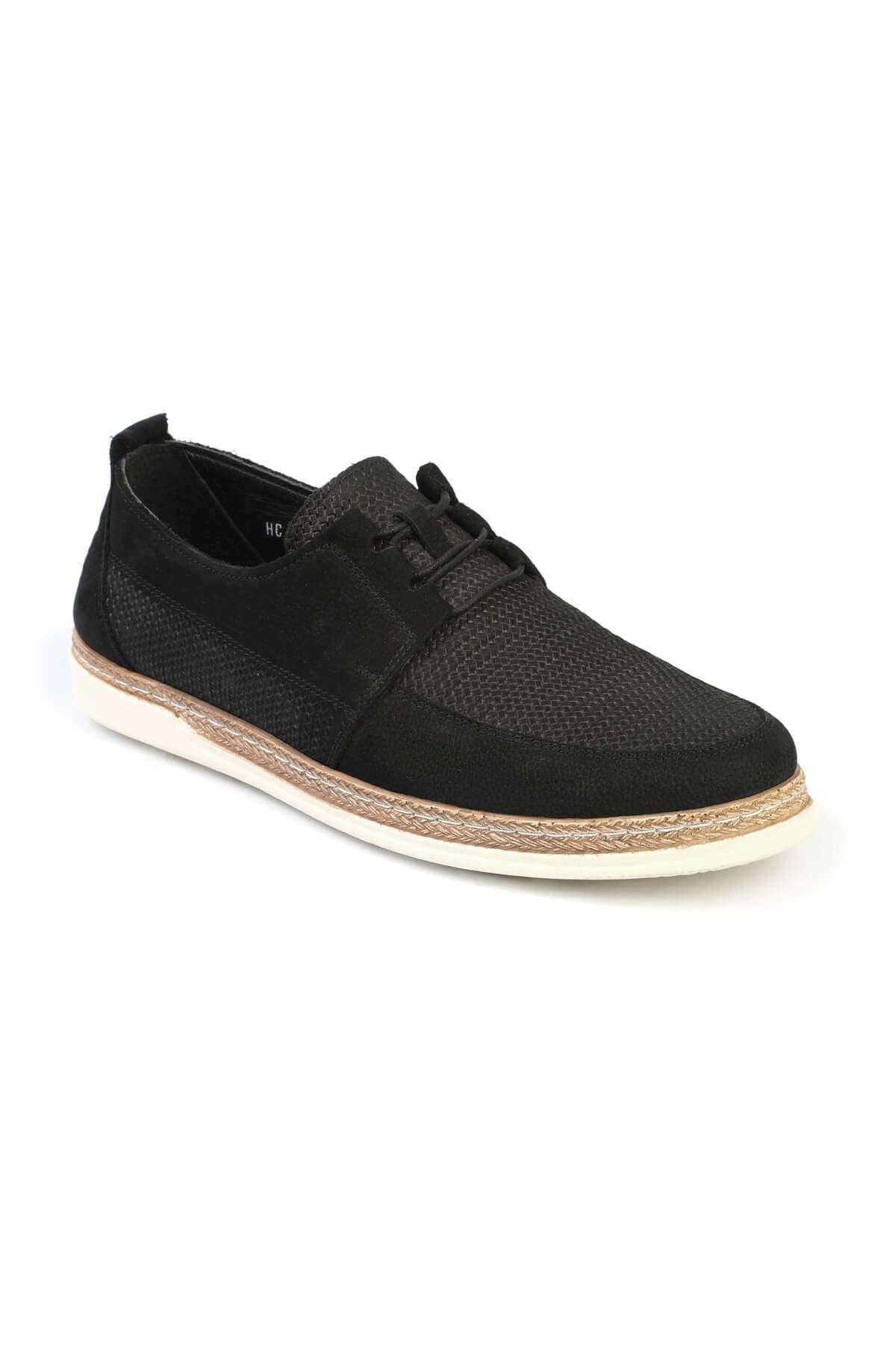 Libero C623 Black Loafer Shoes
