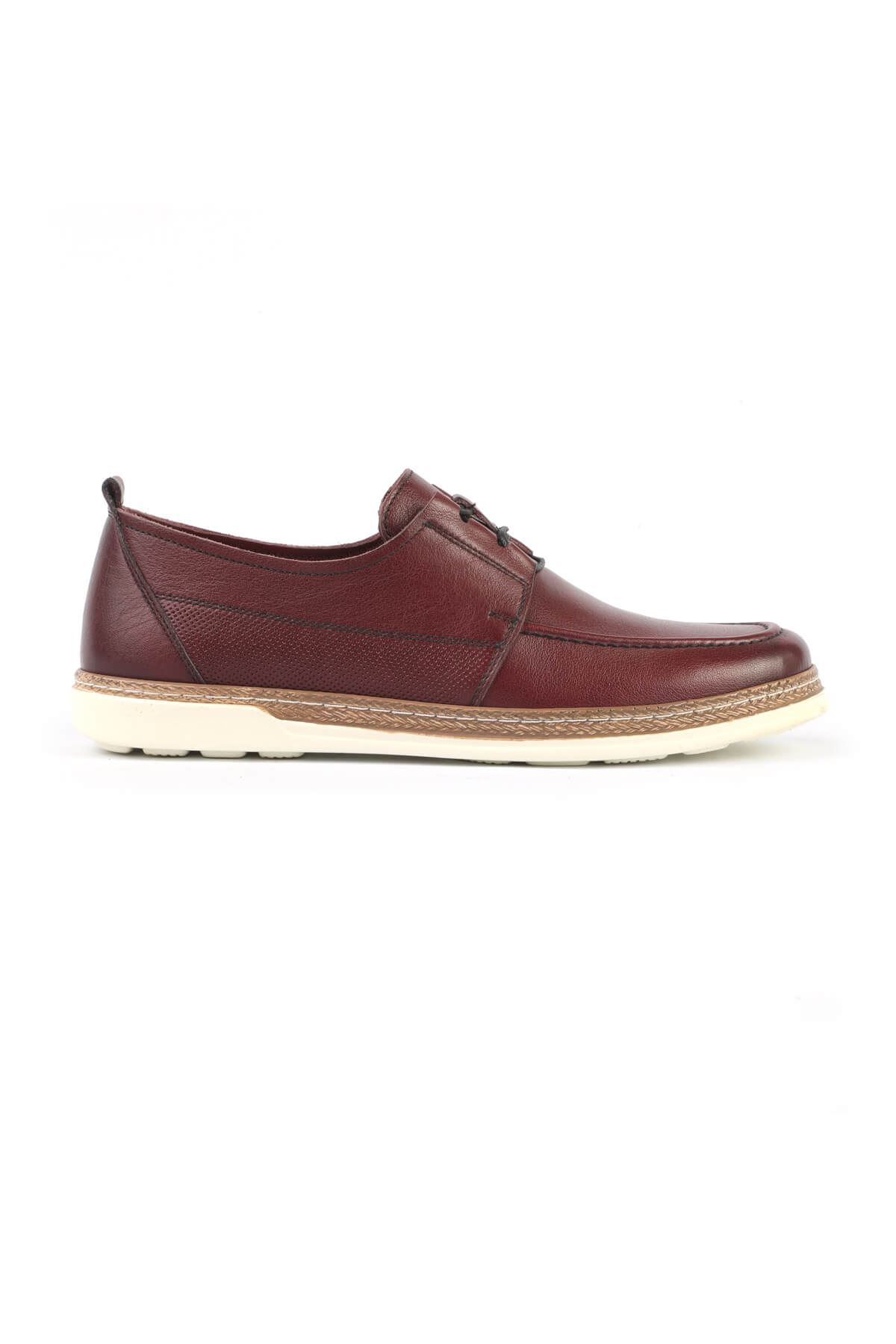 Libero C626 Claret Red Casual Shoes
