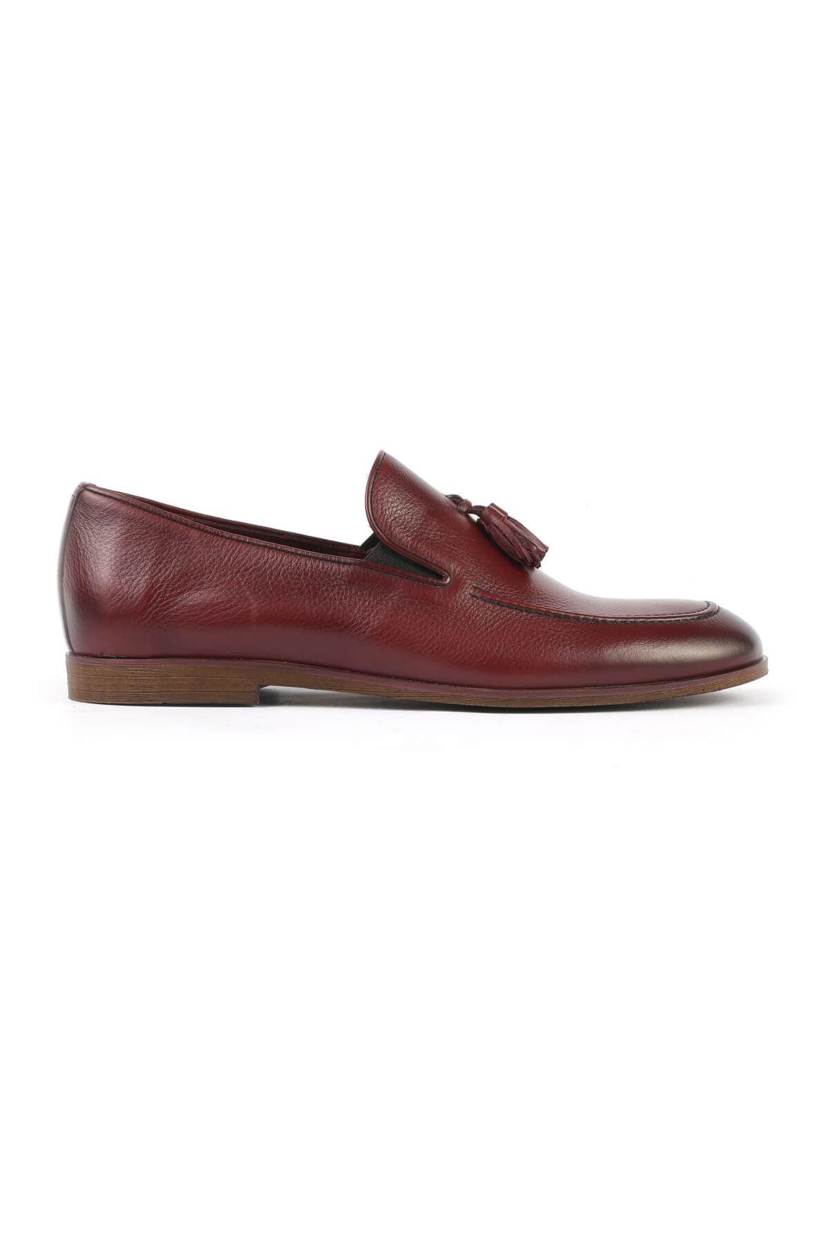 Libero C165 Bordo Loafer Ayakkabı