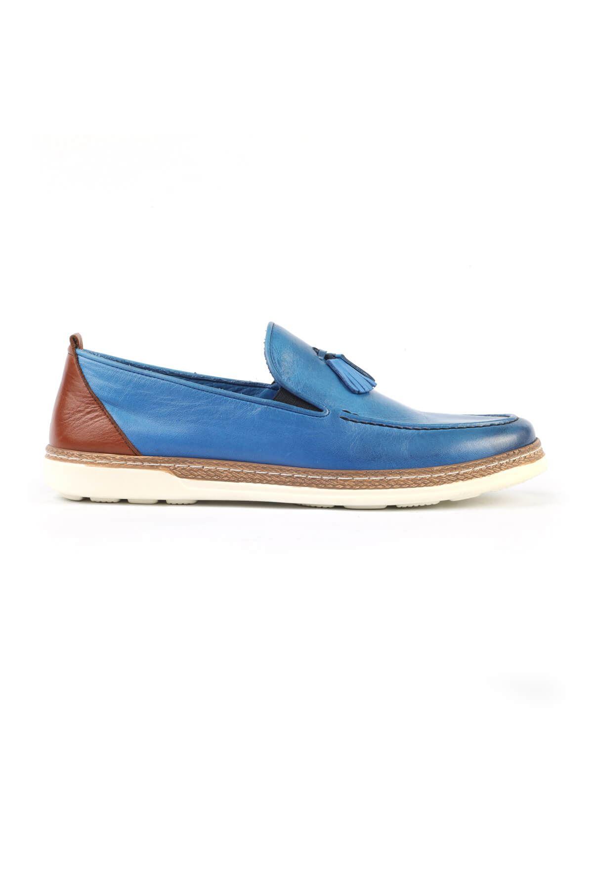 Libero C625 Saks Mavi Loafer Ayakkabı