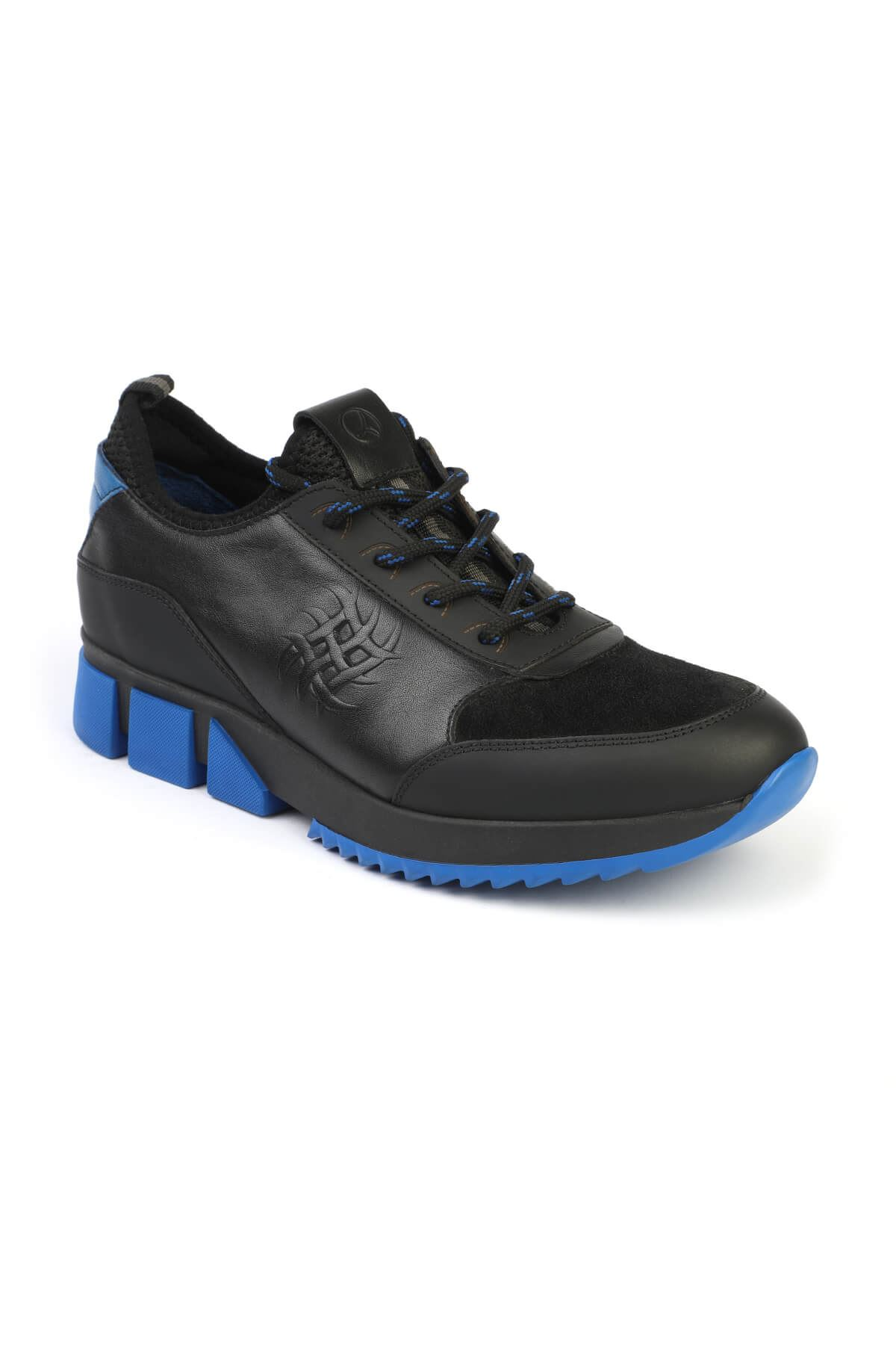 Libero 3130 Black Blue Sport Shoes