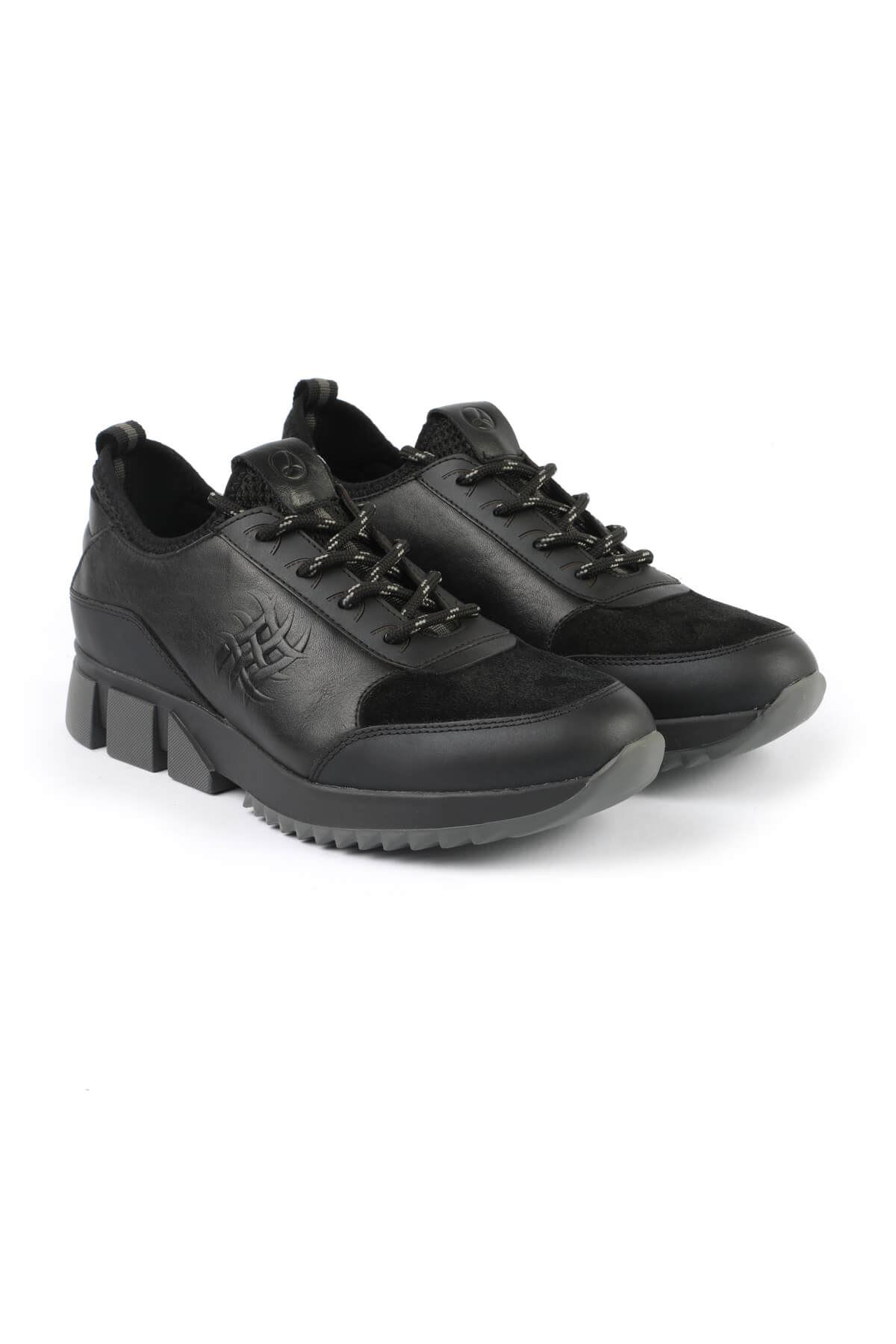 Libero 3132 Siyah Gri Spor Ayakkabı