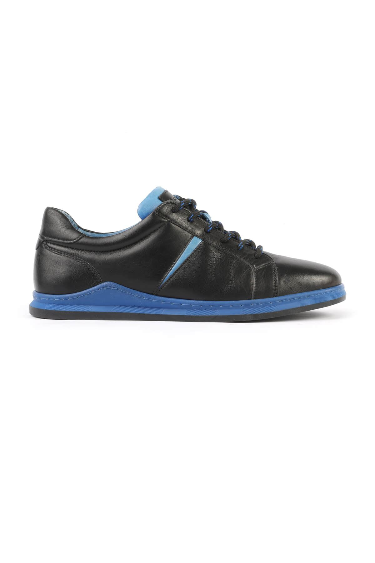 Libero 3196 Black Blue Sneaker Shoes