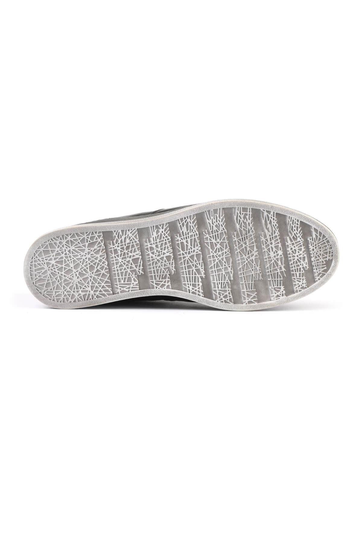 Libero 3196 Black Gray Sneaker Shoes