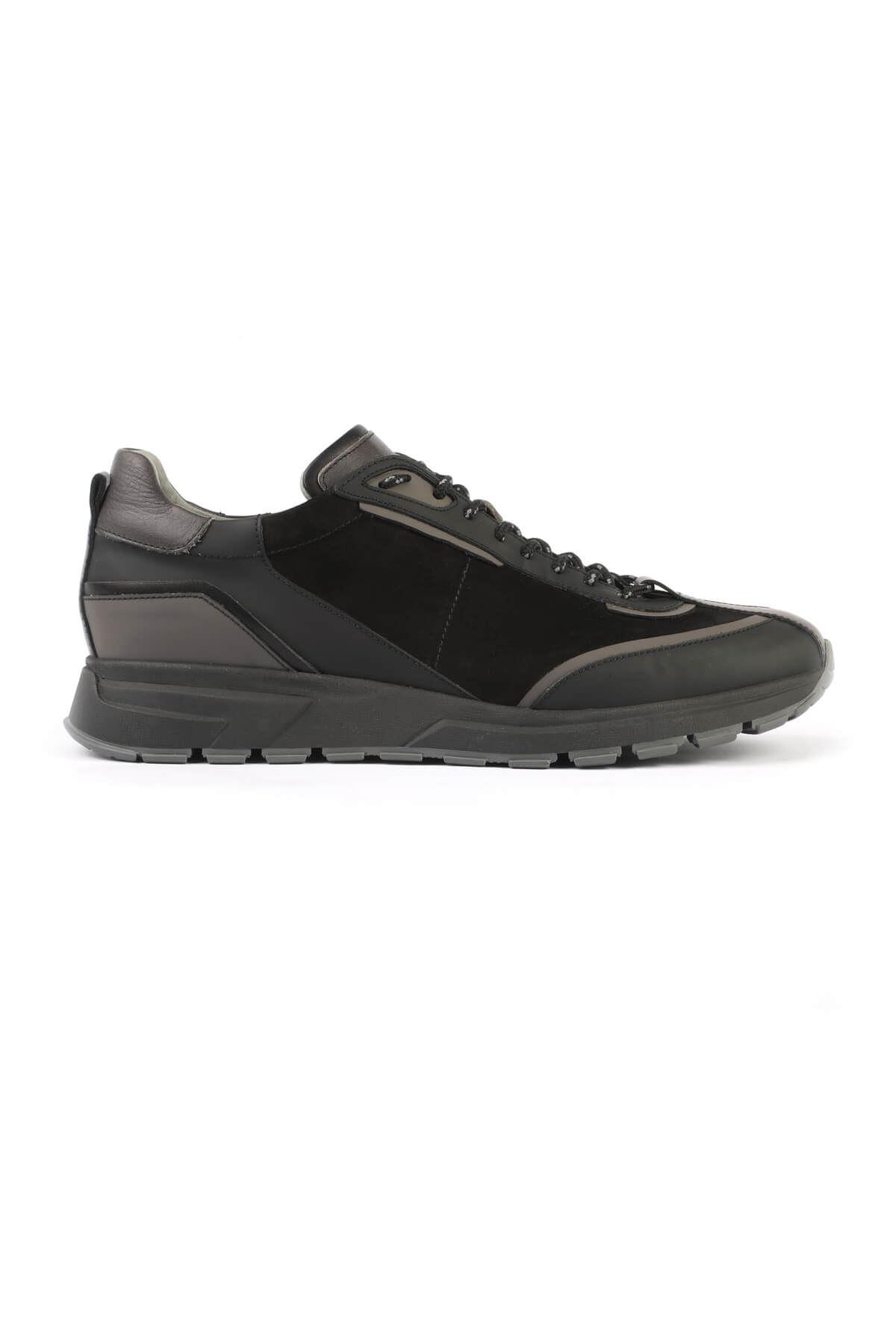 Libero 3147 Siyah Gri Spor Ayakkabı