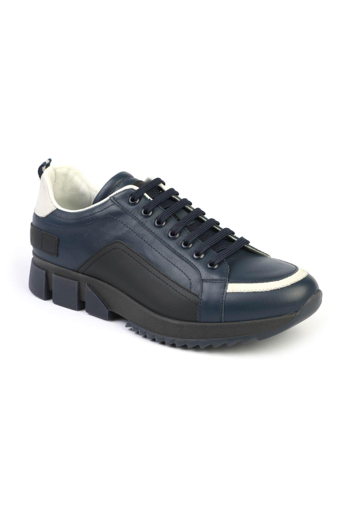 Libero 313 Lacivert Siyah Spor Ayakkabı