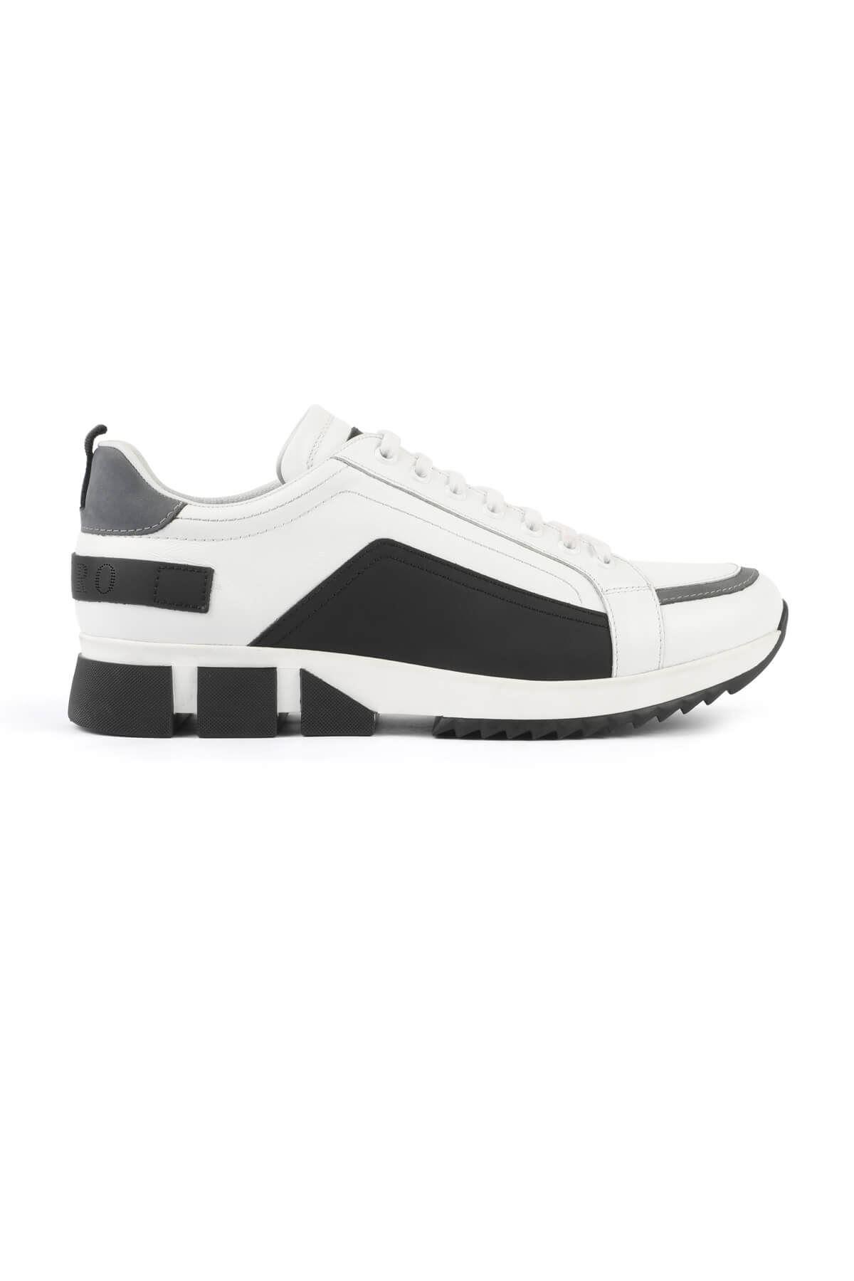 Libero 3133 Beyaz Siyah Spor Ayakkabı