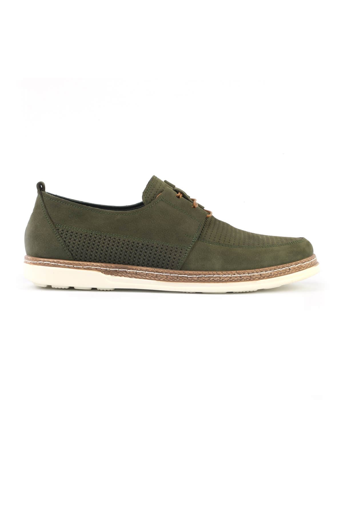 Libero C623 Green Loafer Shoes