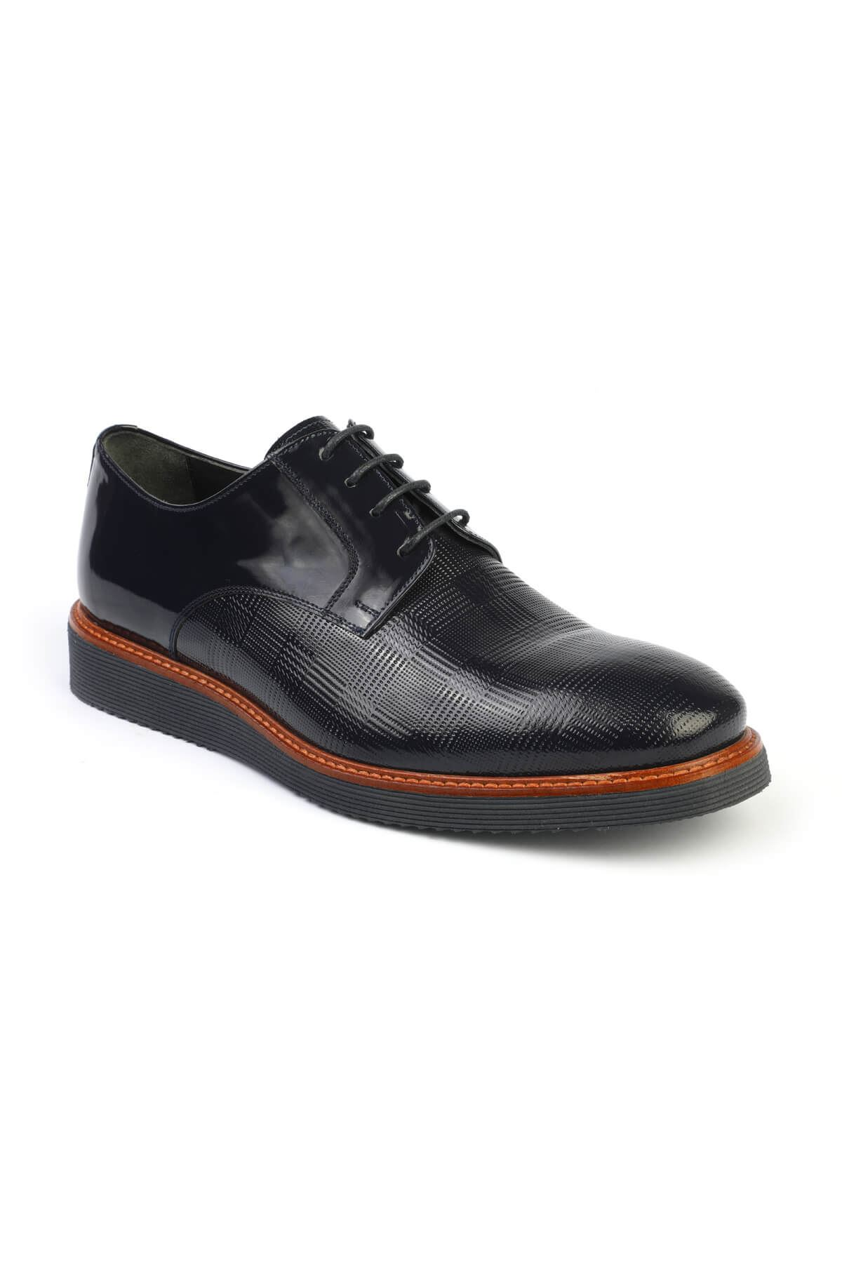 Libero C494 Navy Blue Casual Shoes