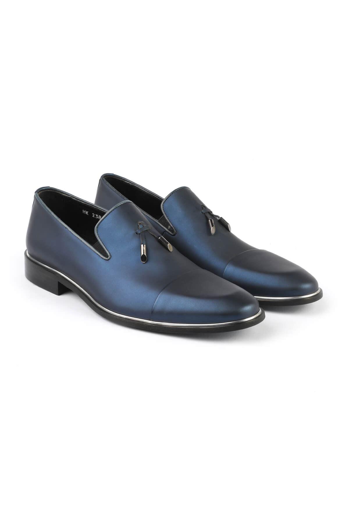 Libero 2385 Navy Blue Classic Shoes