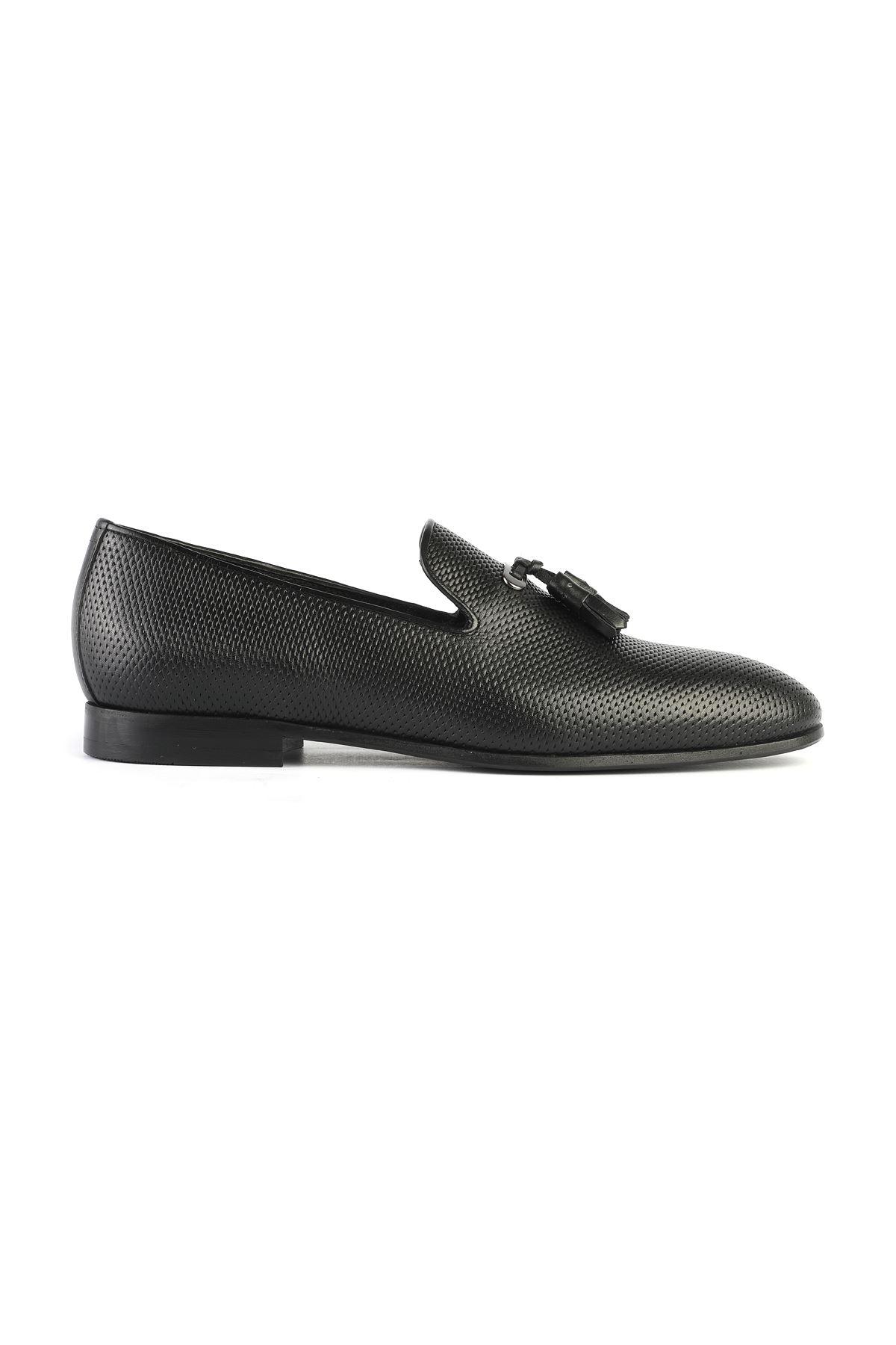 Libero 3324 Black Loafer Shoes
