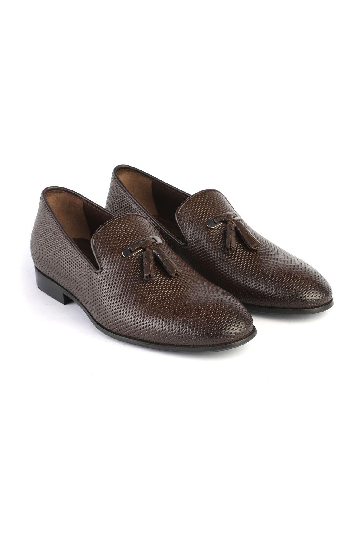 Libero 3324 Kahve Loafer Ayakkabı