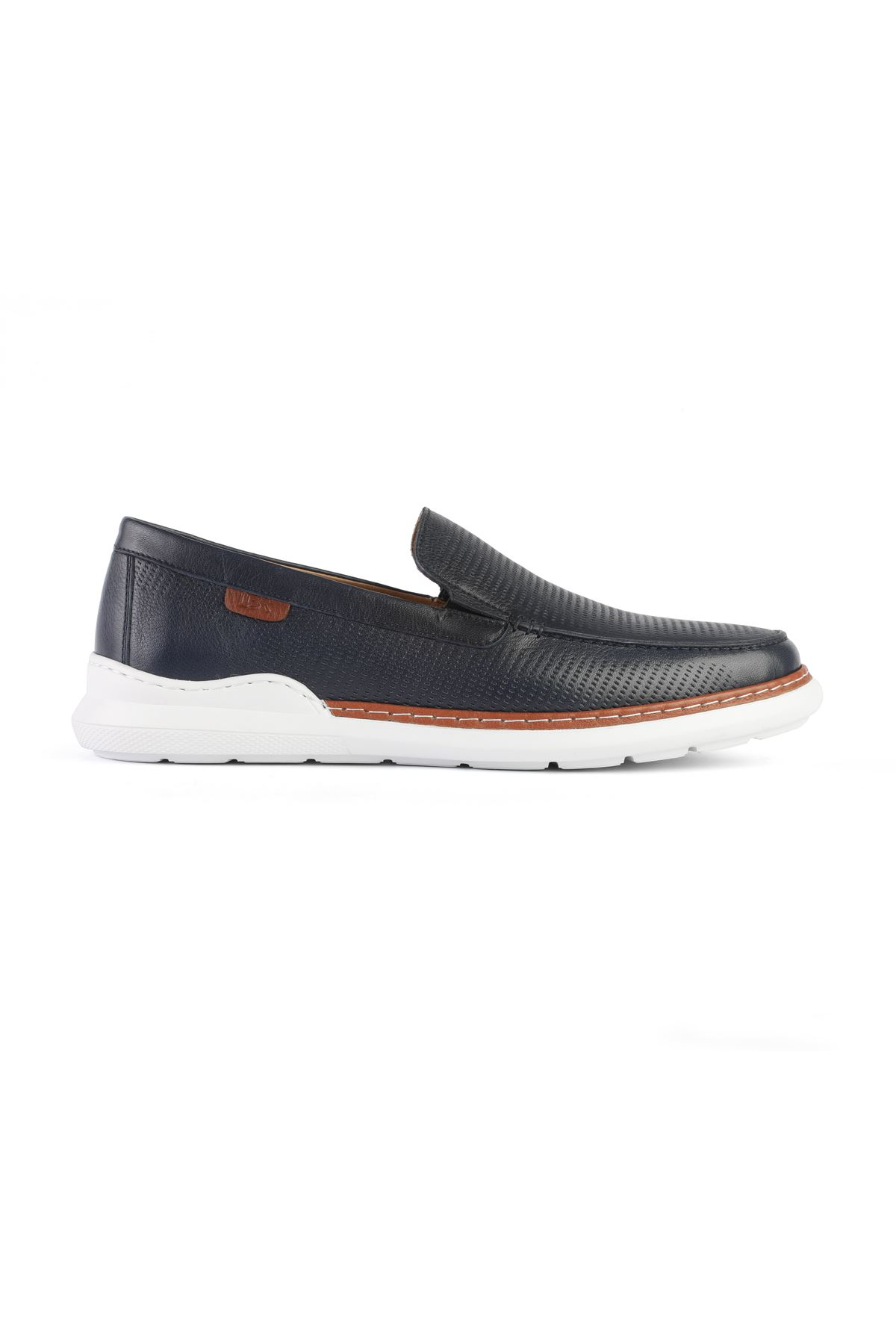 Libero 3332 Navy Blue Loafer Shoes