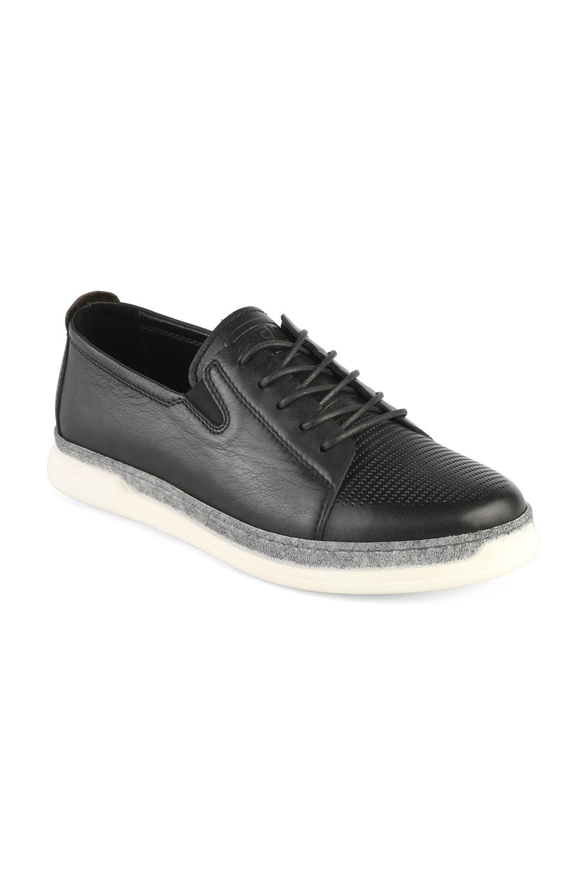 Libero 3307 Black Loafer Shoes