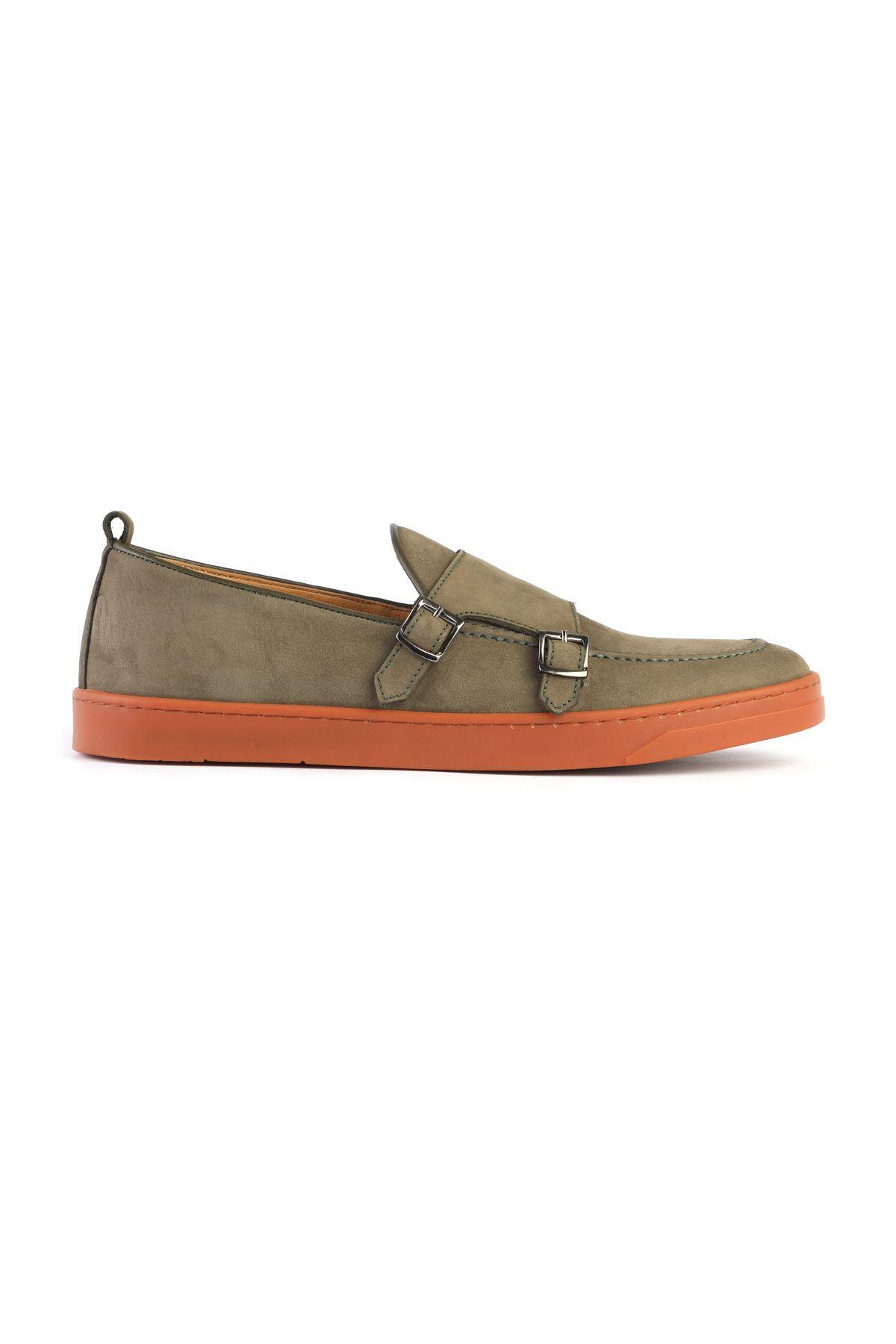 Libero 3357 Khaki Loafer Shoes