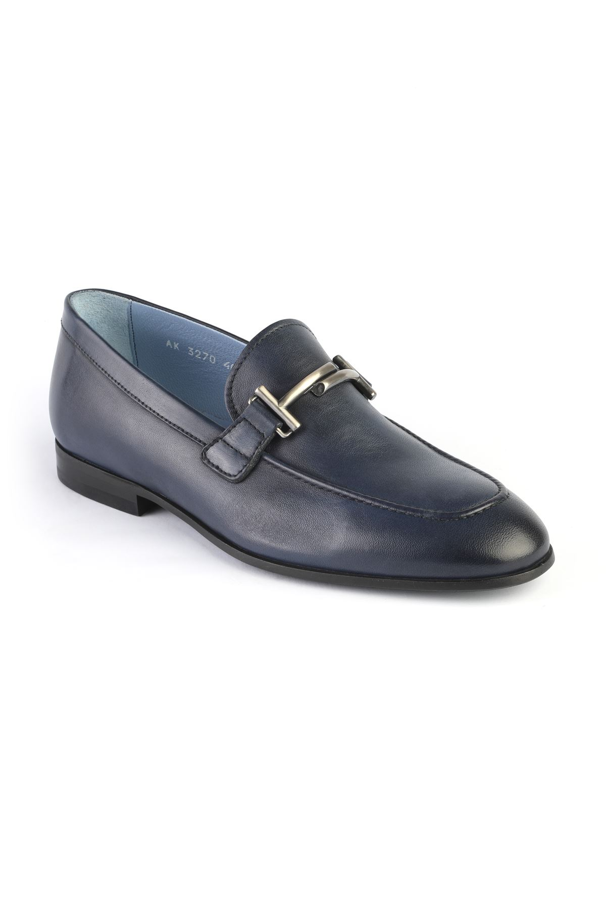 Libero 3270 Navy Blue Loafers