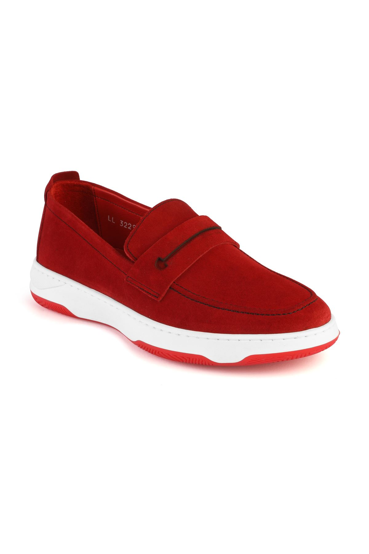 Libero 3229 Red Loafer Shoes