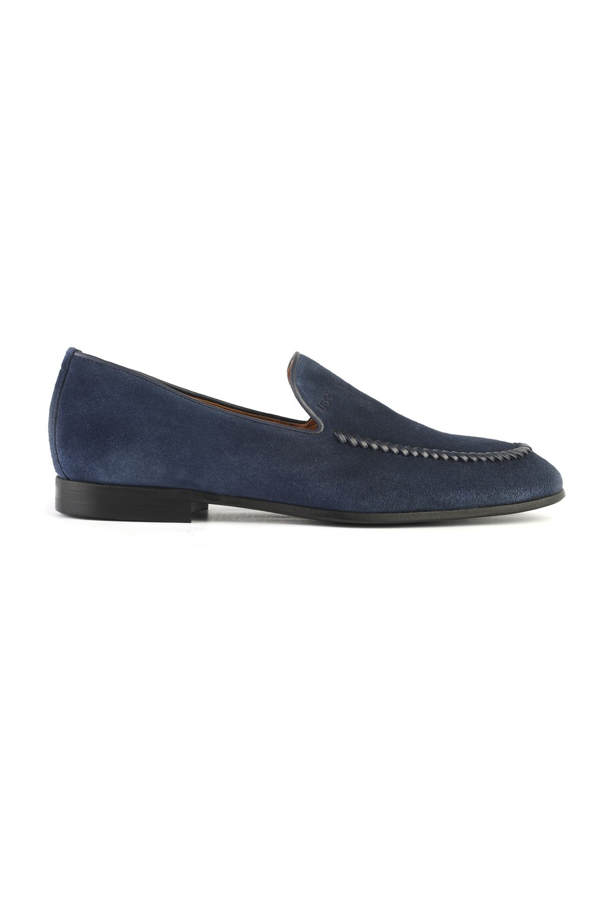 Libero 3260 Navy Blue Loafer Shoes