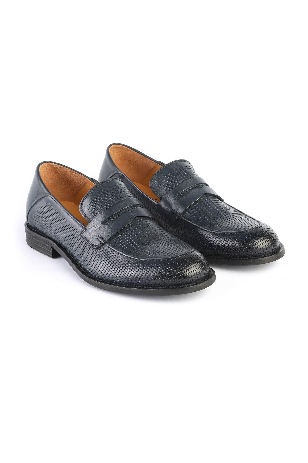 Libero 3211 Lacivert Klasik Ayakkabı