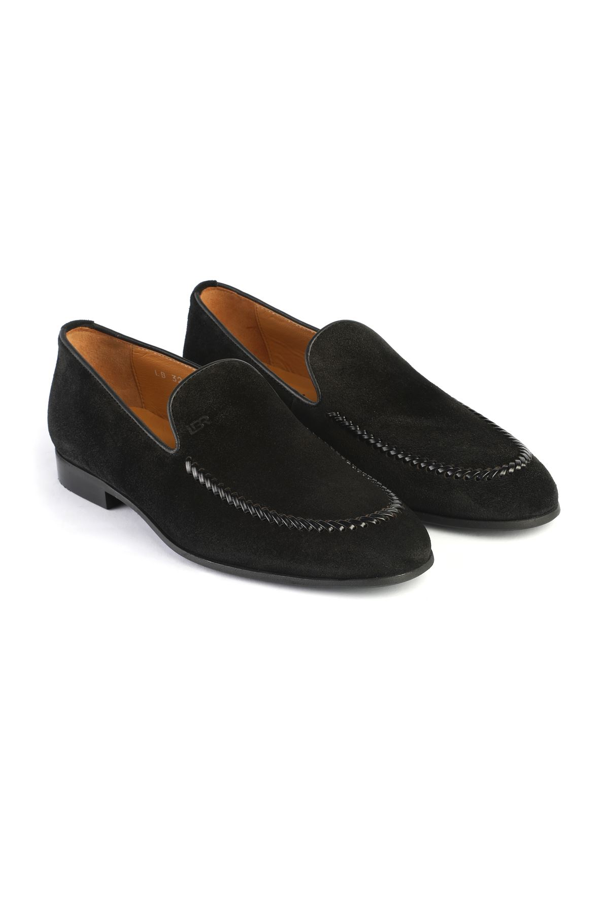 Libero 3260 Black Loafer Shoes