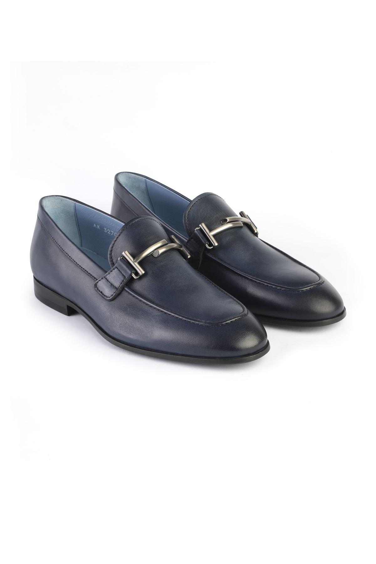 Libero 3270 Lacivert Loafer Ayakkabı