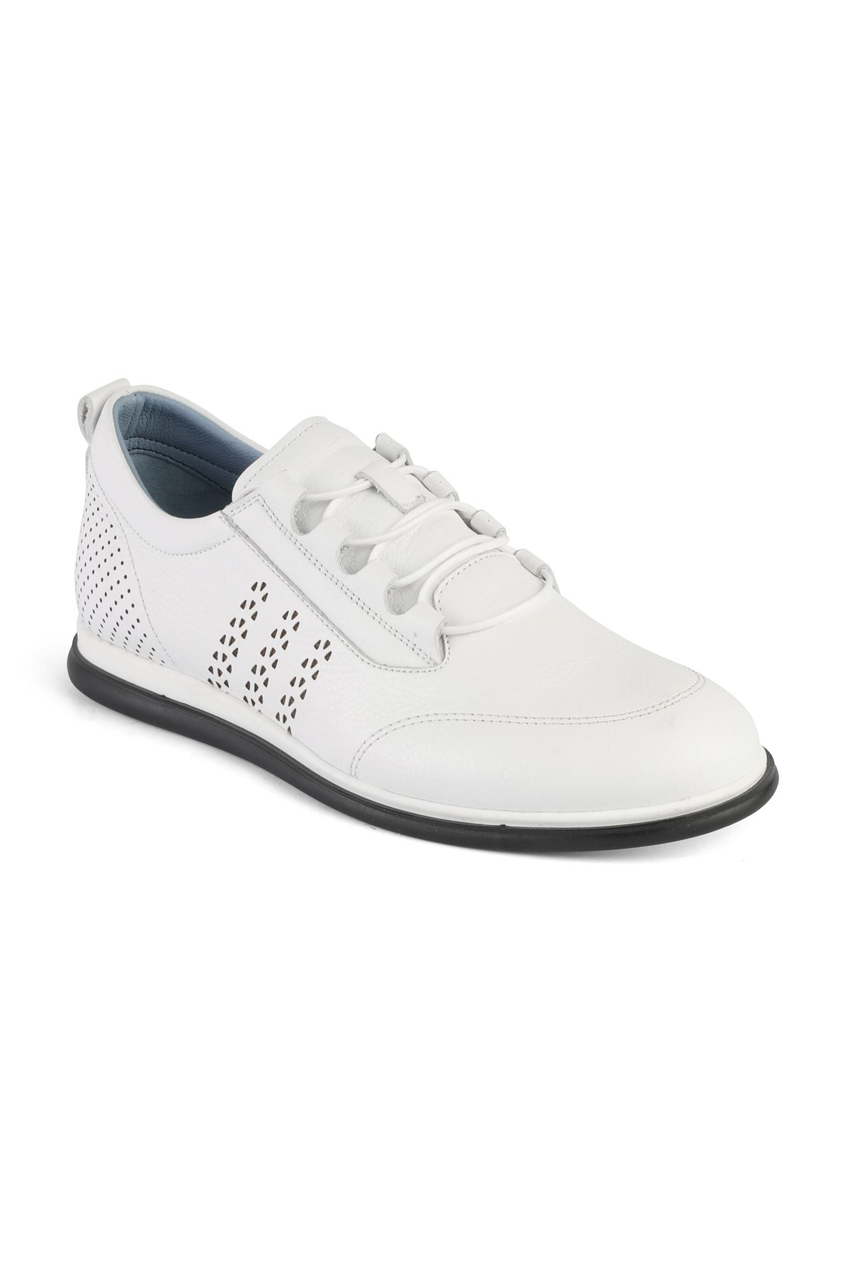 Libero 3274 White Casual Shoes