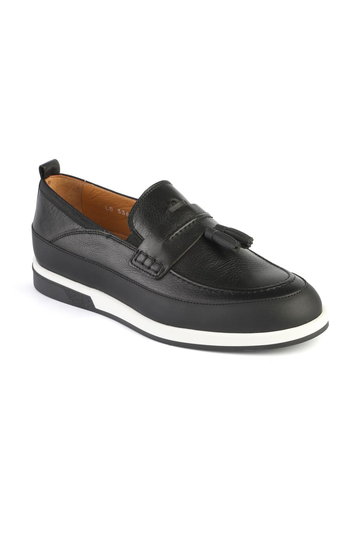 Libero 3366 Black Loafer Shoes