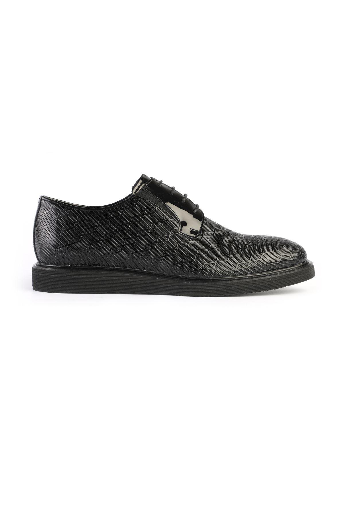 Libero 3234 Siyah Oxford Ayakkabı