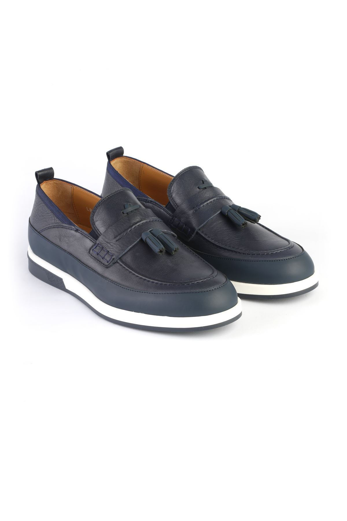 Libero 3366 Navy Blue Loafers